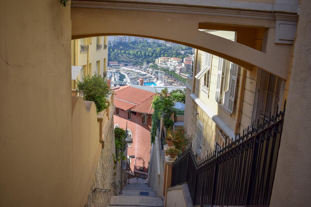 Monaco is surprisingly good for pedestrians.