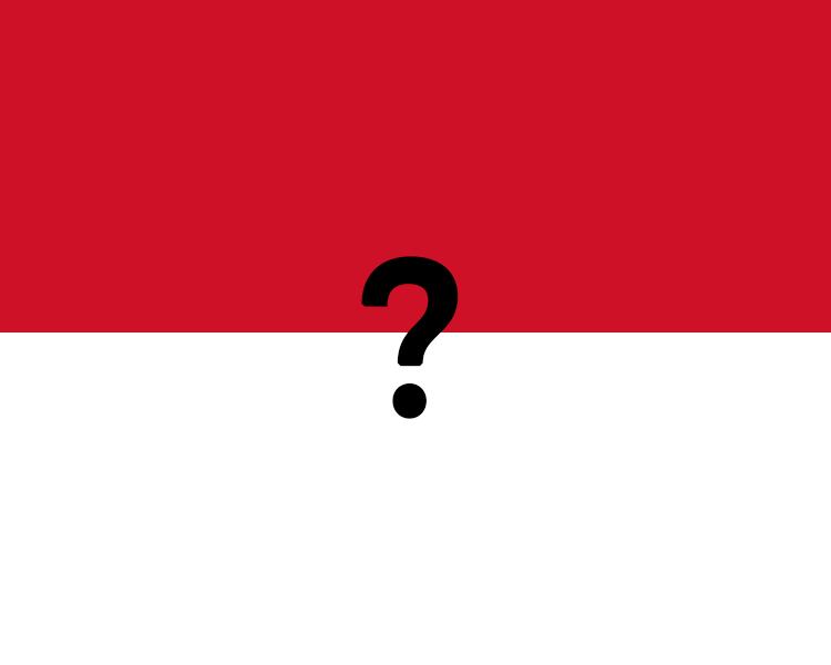 Flag Of Monaco Question Mark