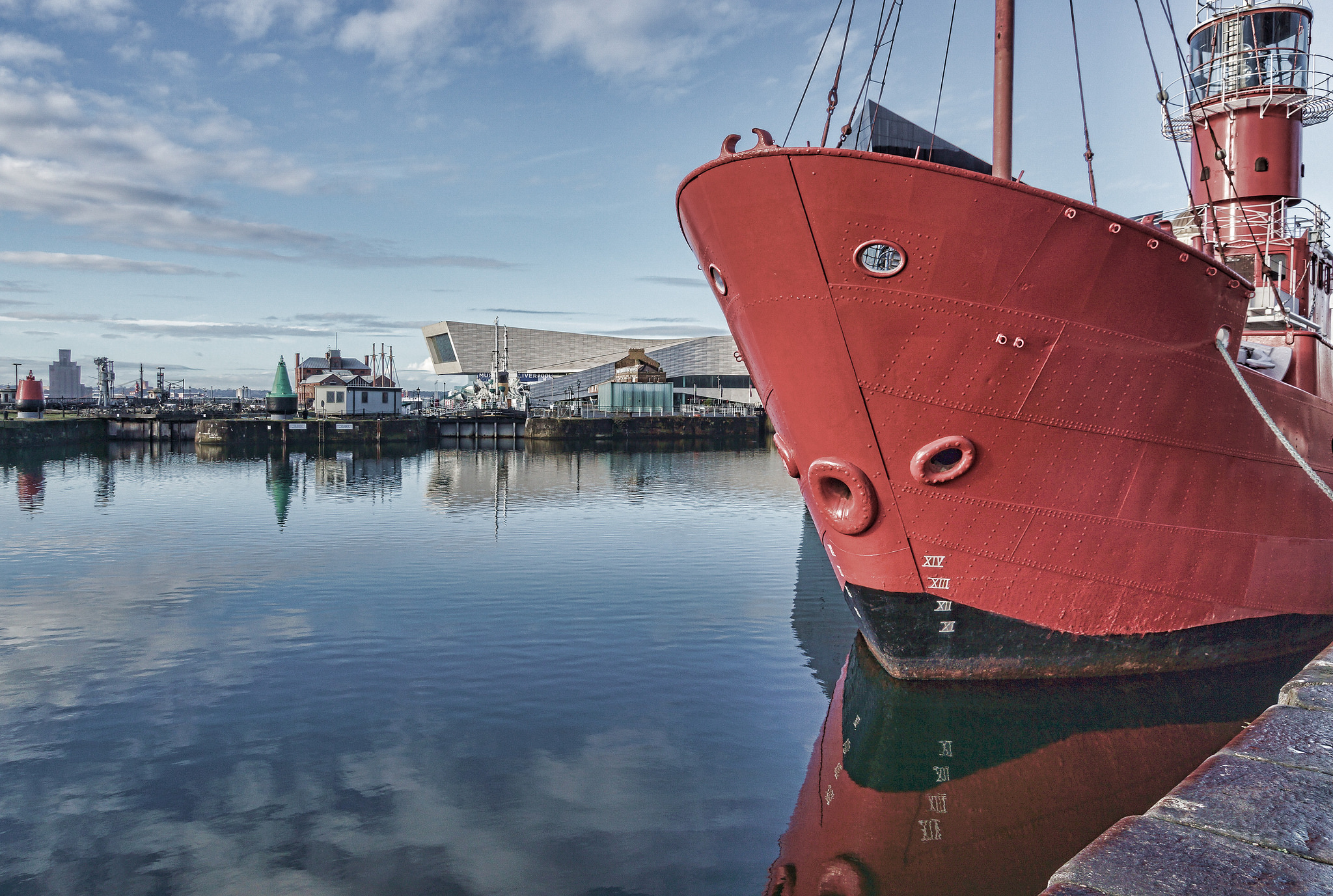 Liverpool's renowned waterfront. Image credit:  Beverley Goodwin / Creative Commons