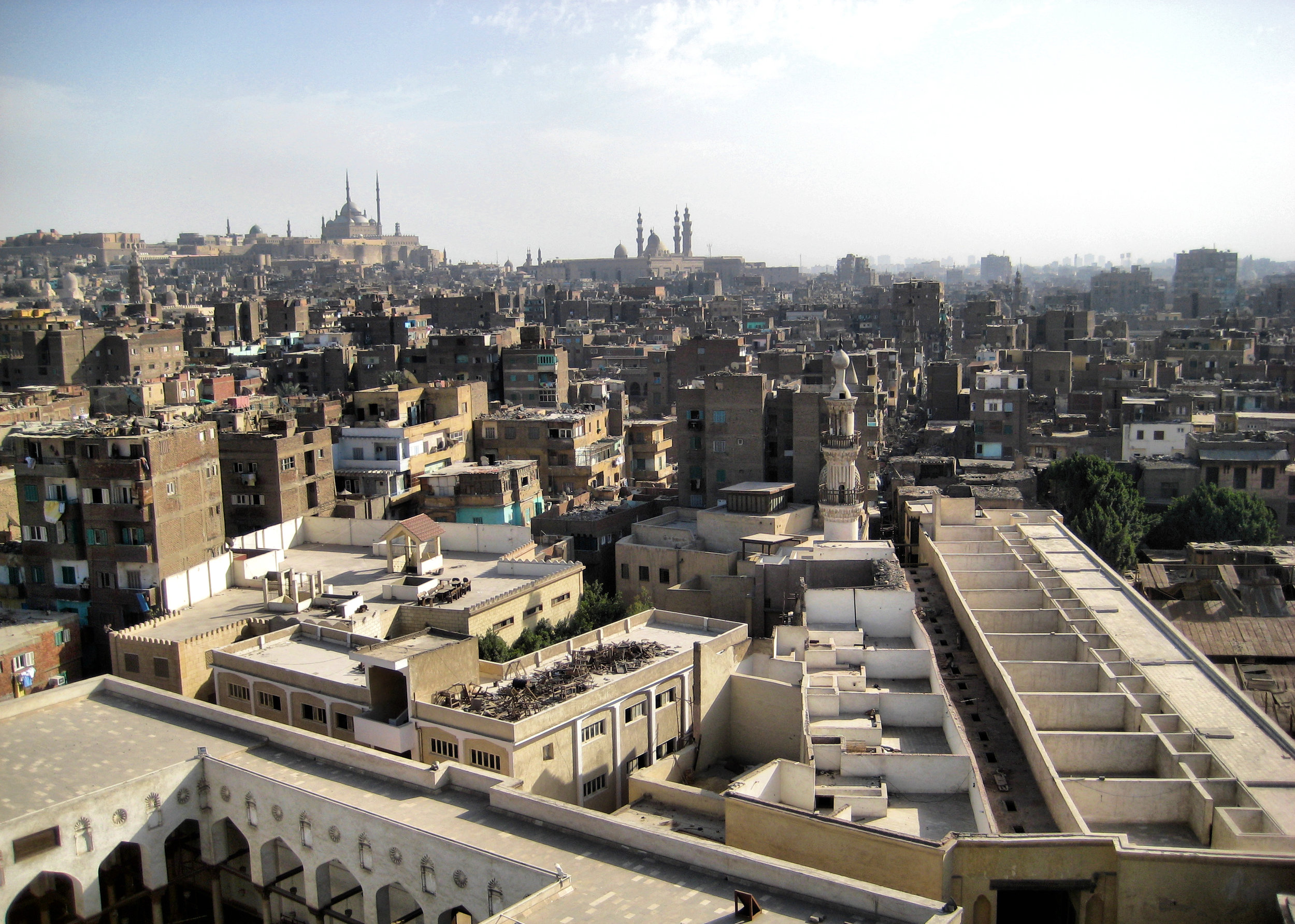 Looking out over Old Cairo. Image credit:  Francisco Anzola / Creative Commons