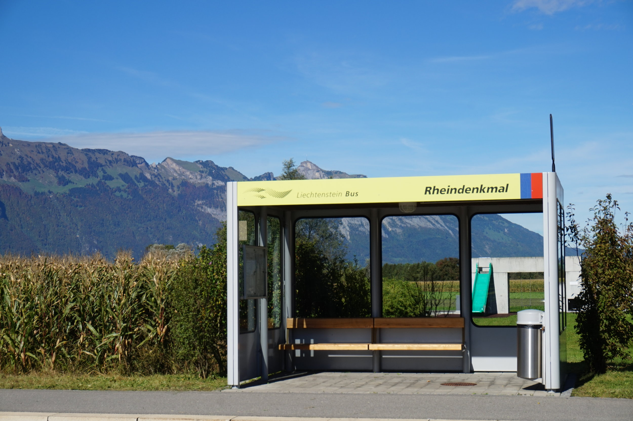 LiechtensteinBusStop