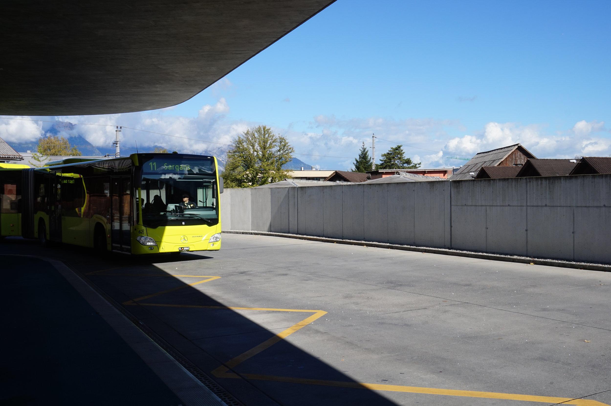 LiechtensteinBusStation