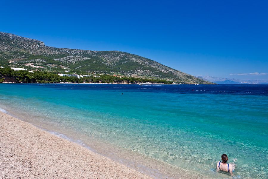Croatia's beautiful Zlatni Rat beach. Image credit:  Nikolaj Potanin / Creative Commons