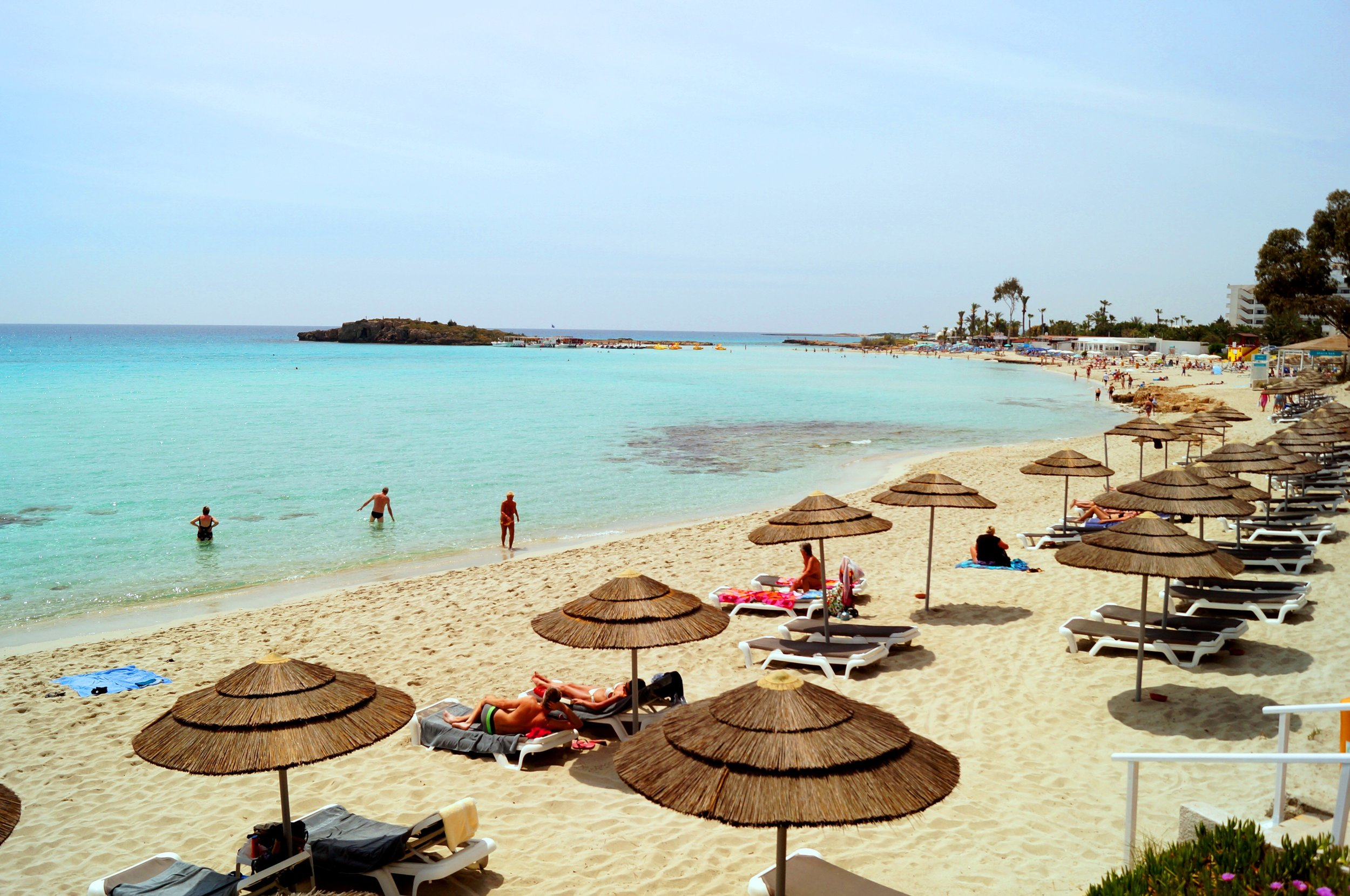 Ayia Napa may be known for its party scene, but this Cypriot resort is also home to one of Europe's finest beaches. Image credit:  CTO Zurich / Creative Commons