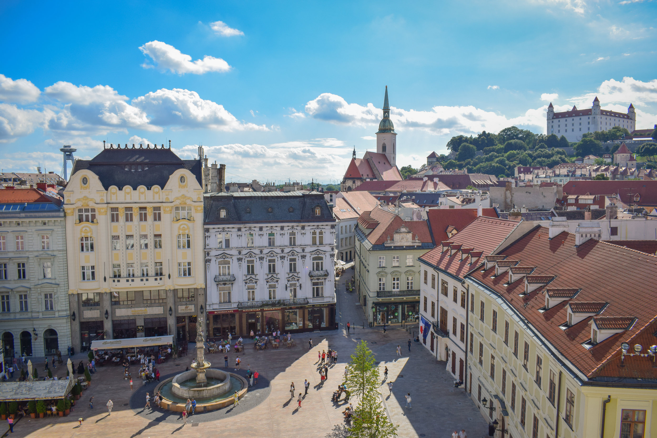 Bratislava is only a small city, but it packs a lot in.