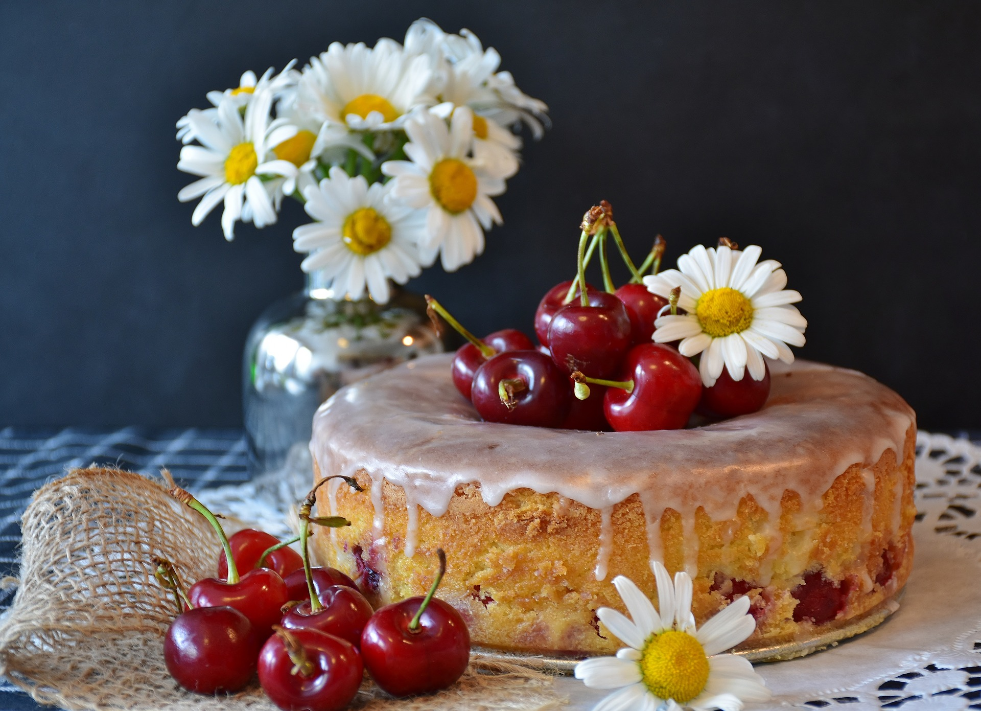 Cherries are a versatile fruit and, in addition to helping jet lag, can be used to make a variety of tasty treats including cherry cake.