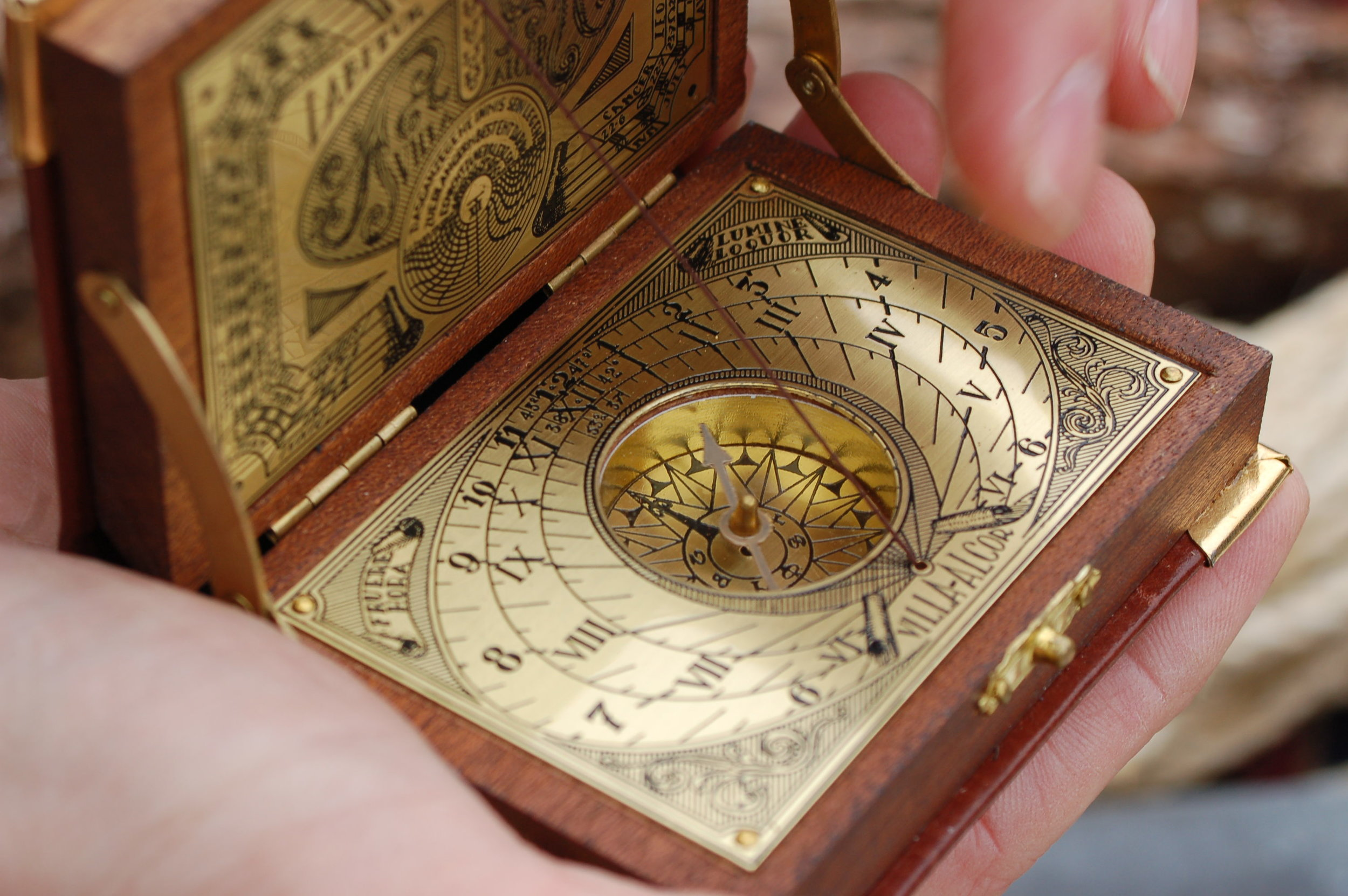 A compass can help you navigate you out of trouble, or on to your next destination. Image credit:  Virginia State Park / Creative Commons