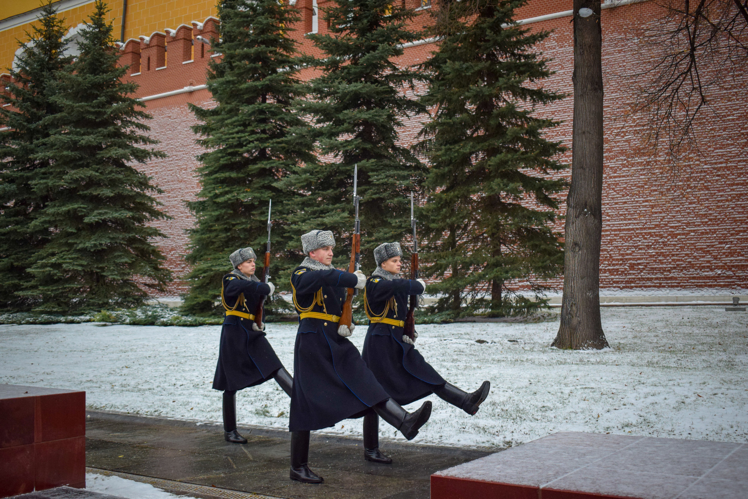The Kremlin's changing of the guard.