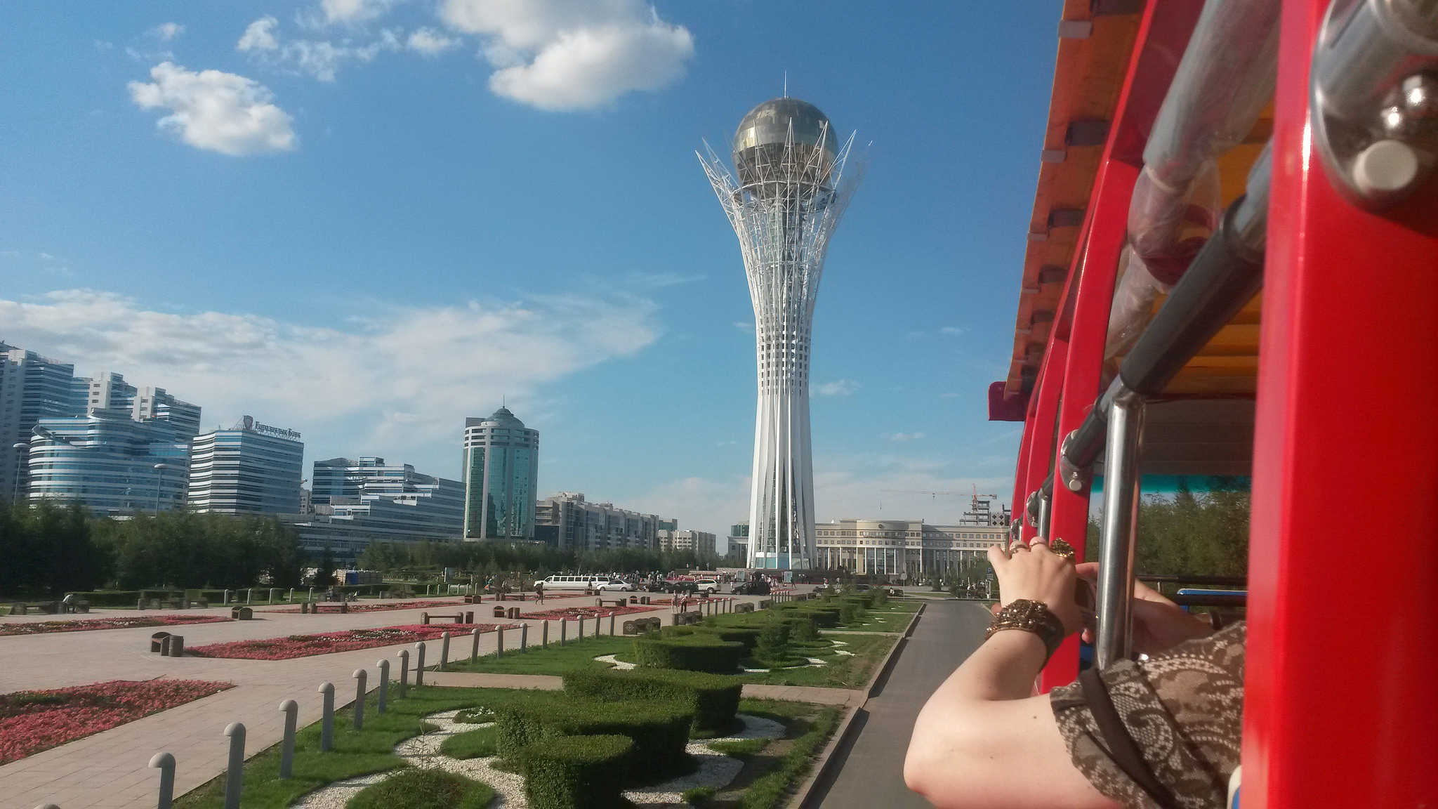 Seeing the weird and wonderful structures of Astana is a travel experience I want to have in 2019. Image credit:    Alex J. Butler   /   Creative Commons