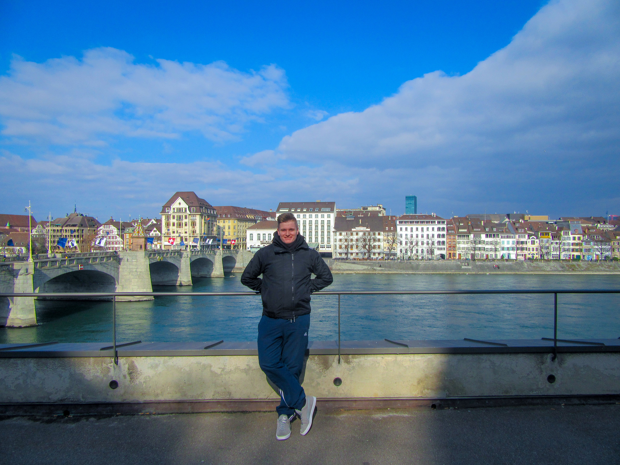 Basel, in northwestern corner of Switzerland, is one of Europe's most pleasant cities.