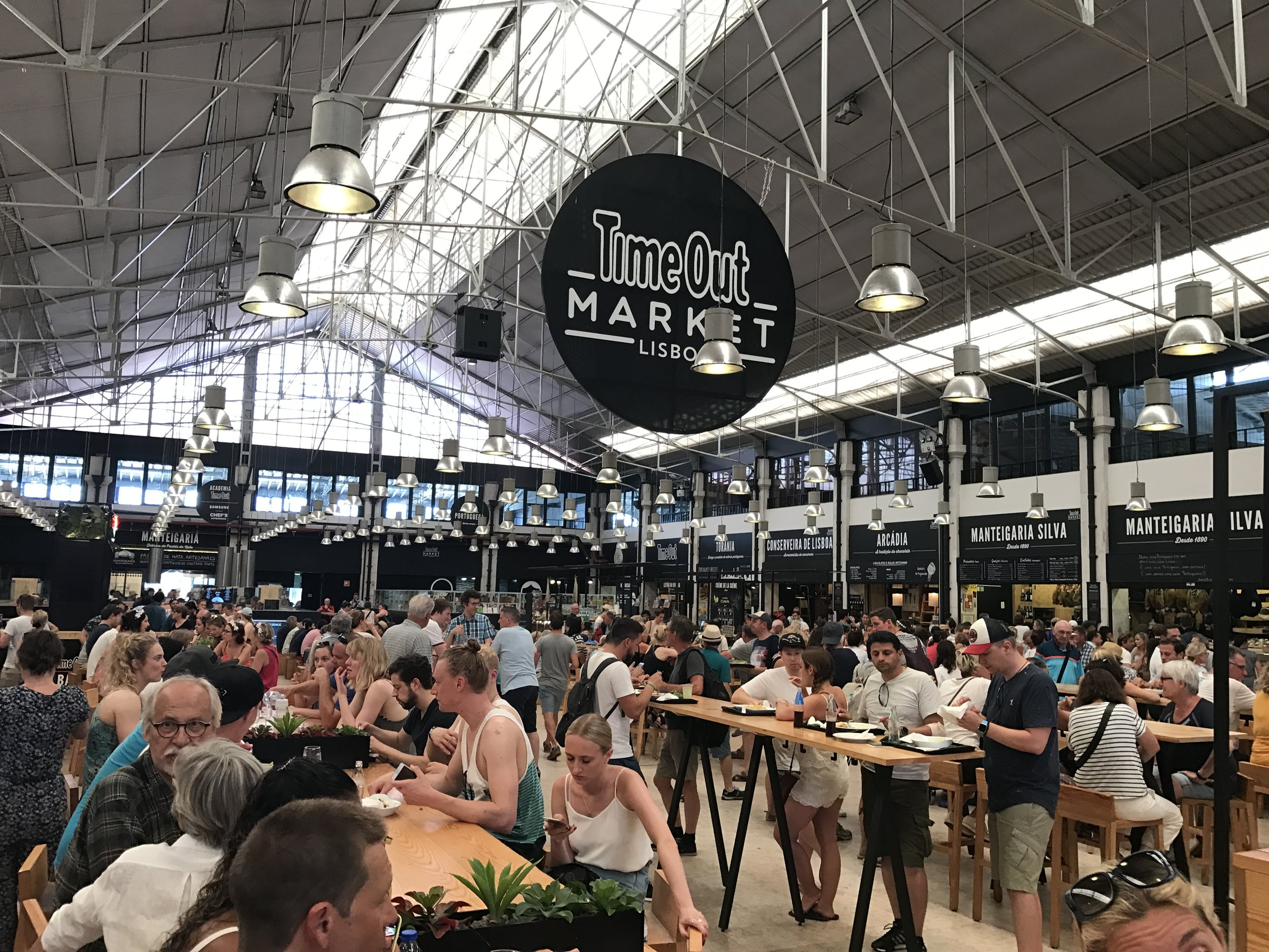 Lisbon's Time Out Market is a must for anyone visiting the Portuguese capital.