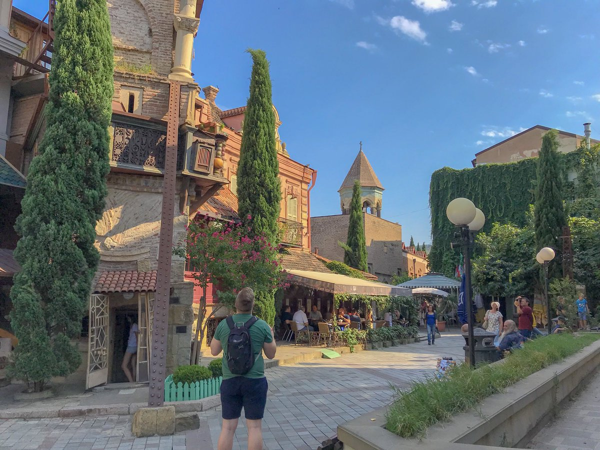 Tbilisi's Old Town is one of the world's most beautiful.