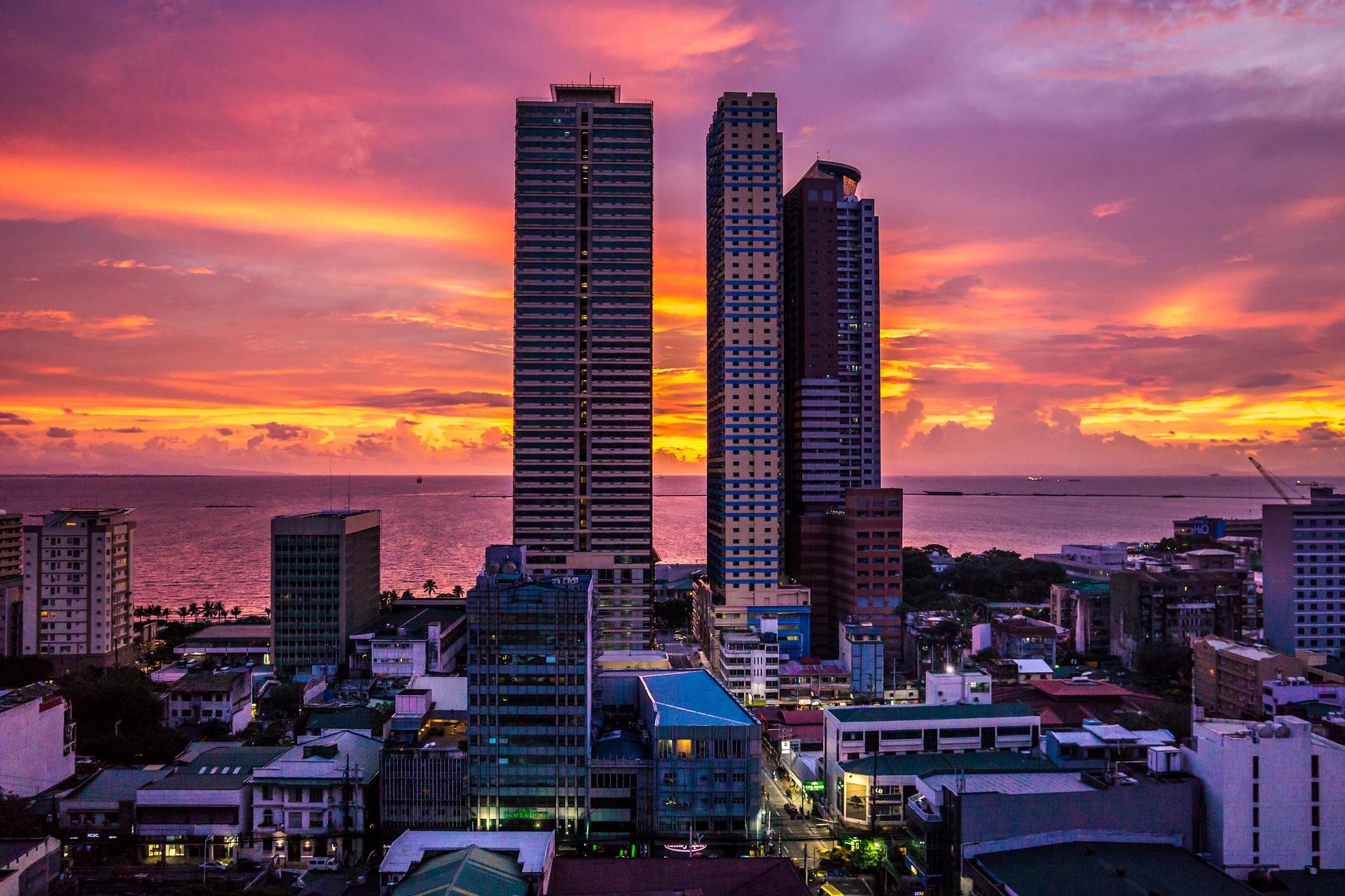 Manila-Philippines-Sunset
