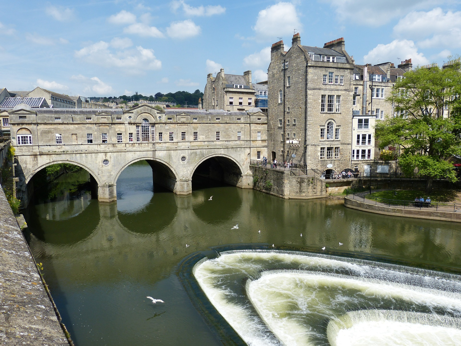bath-england-river-water