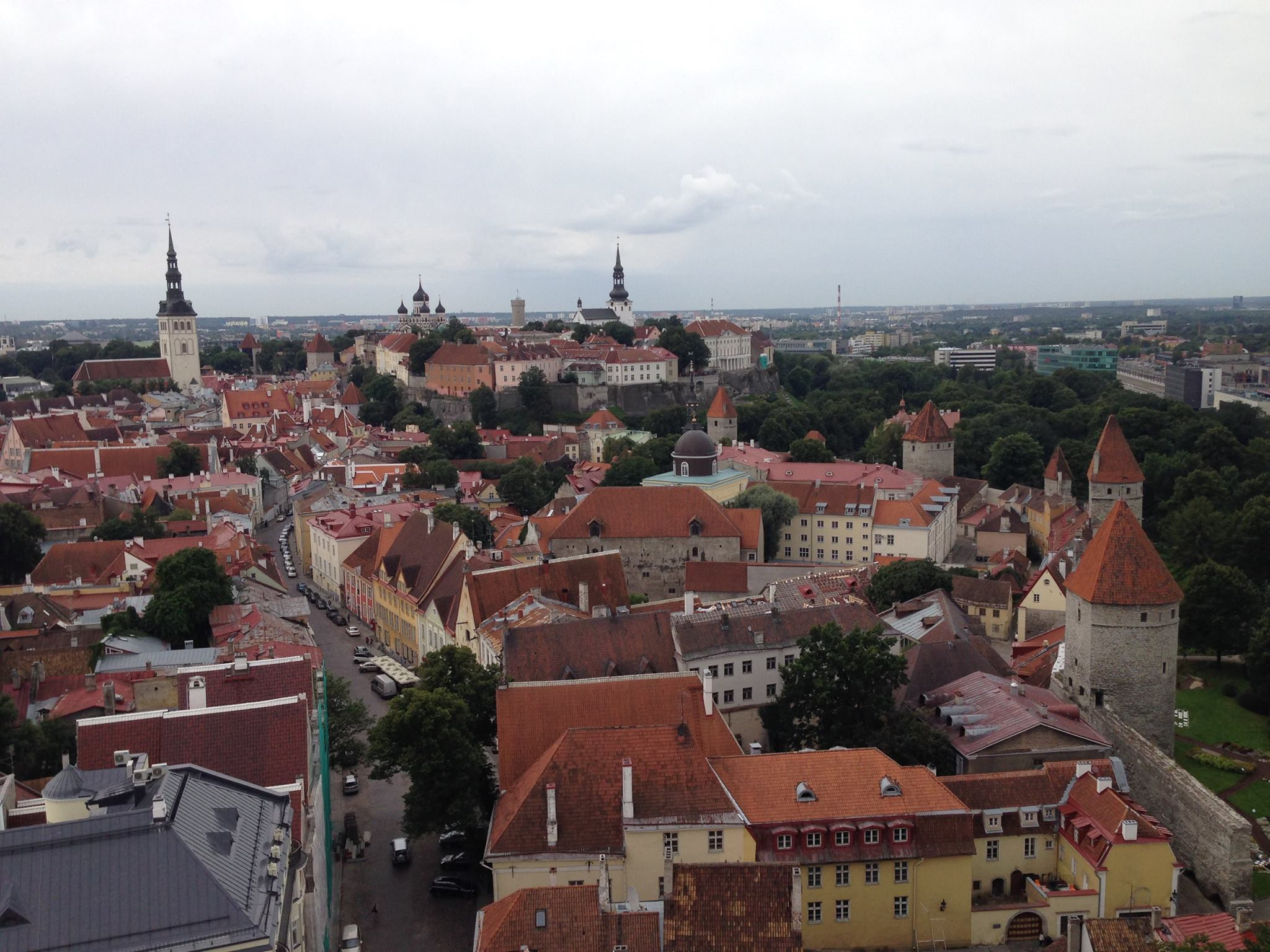 Tallinn-Estonia-Old-Town-Landscape