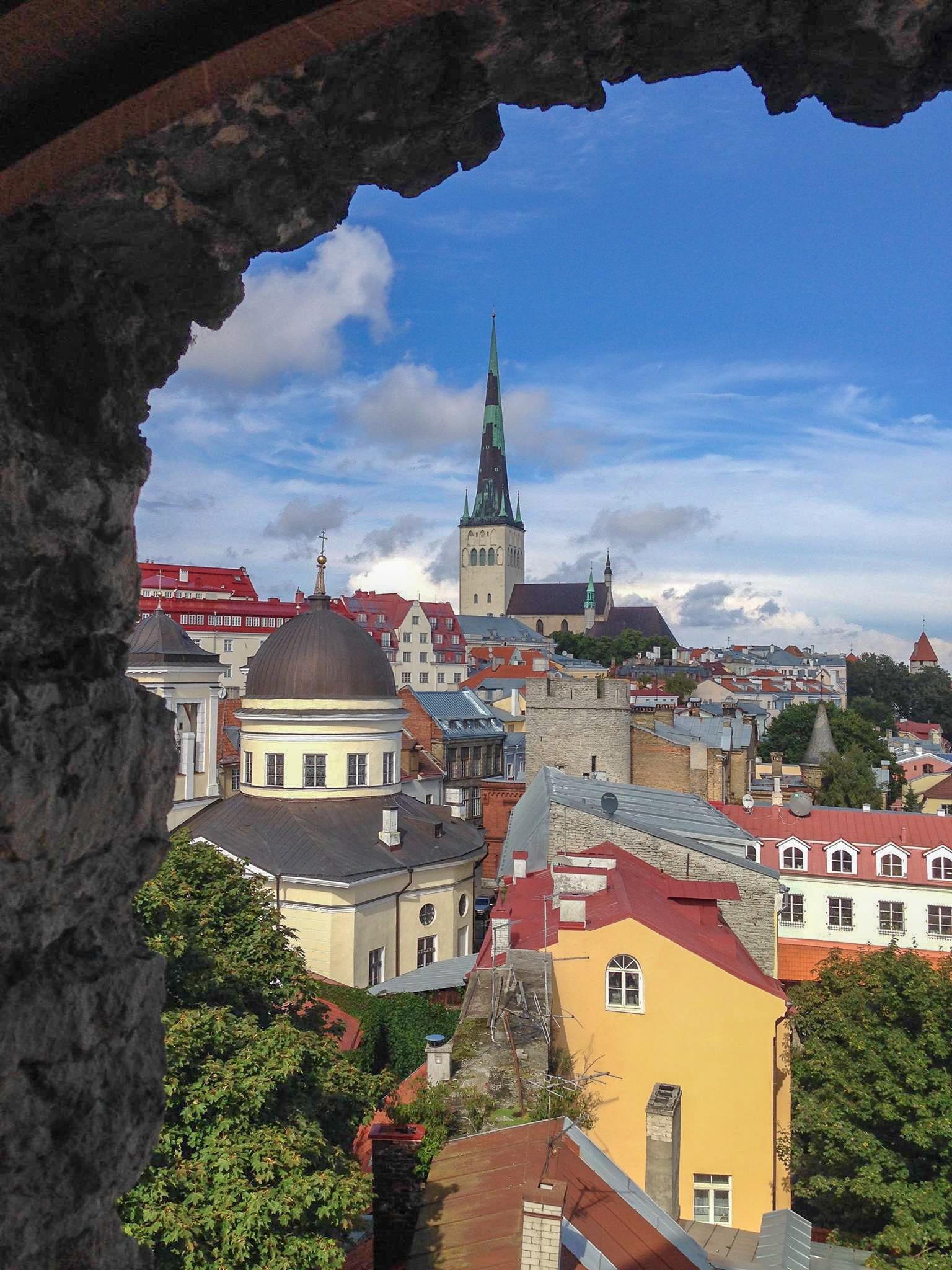 Tallinn-Estonia-City-Walls-View