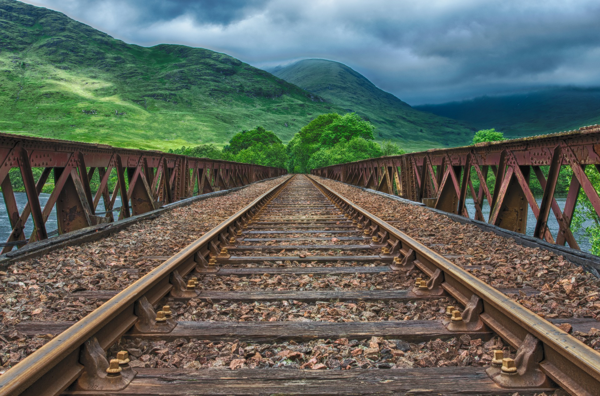 Hit the train tracks in Scotland for one of the UK's most scenic journeys.
