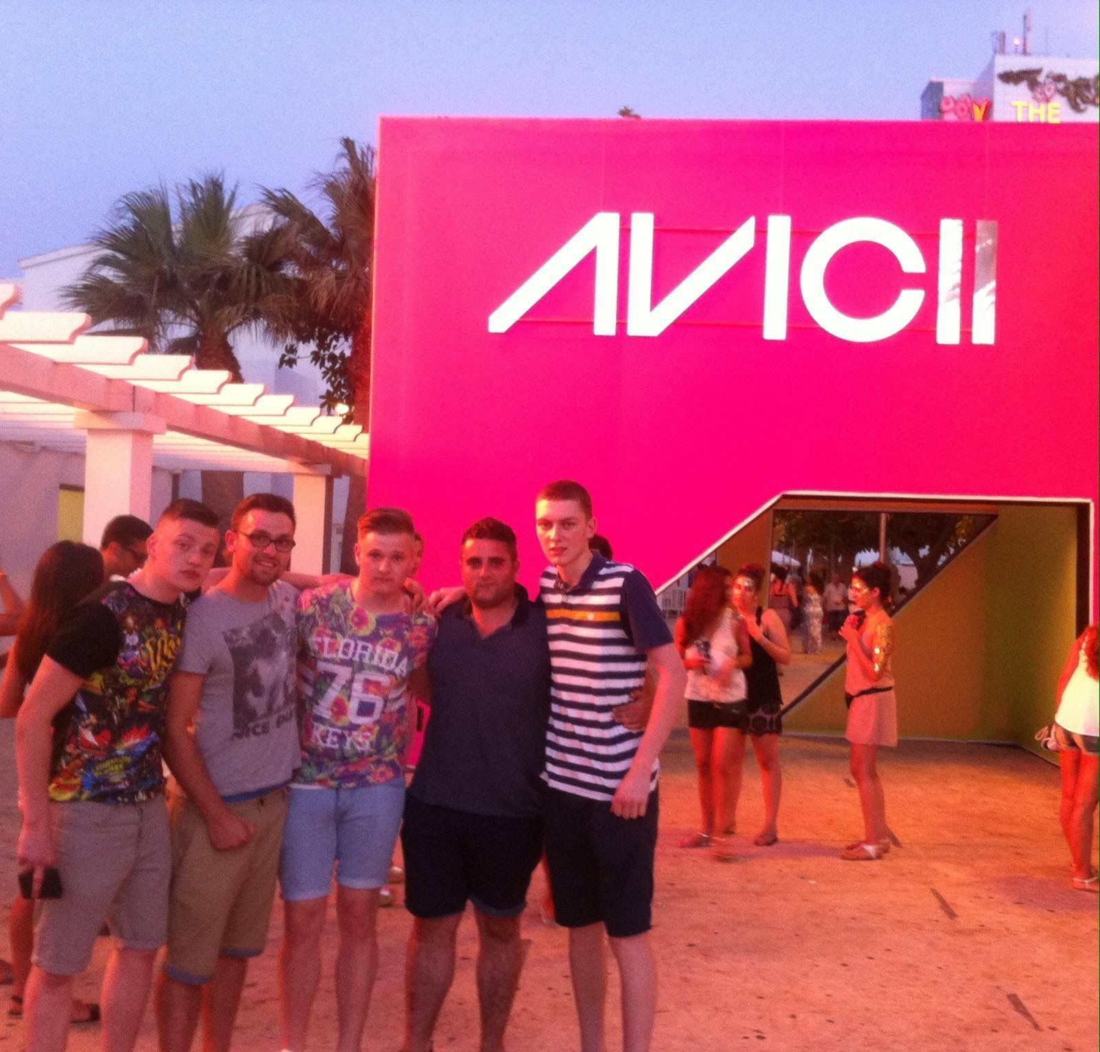 The night we saw Avicii at Ushuaia in Ibiza.