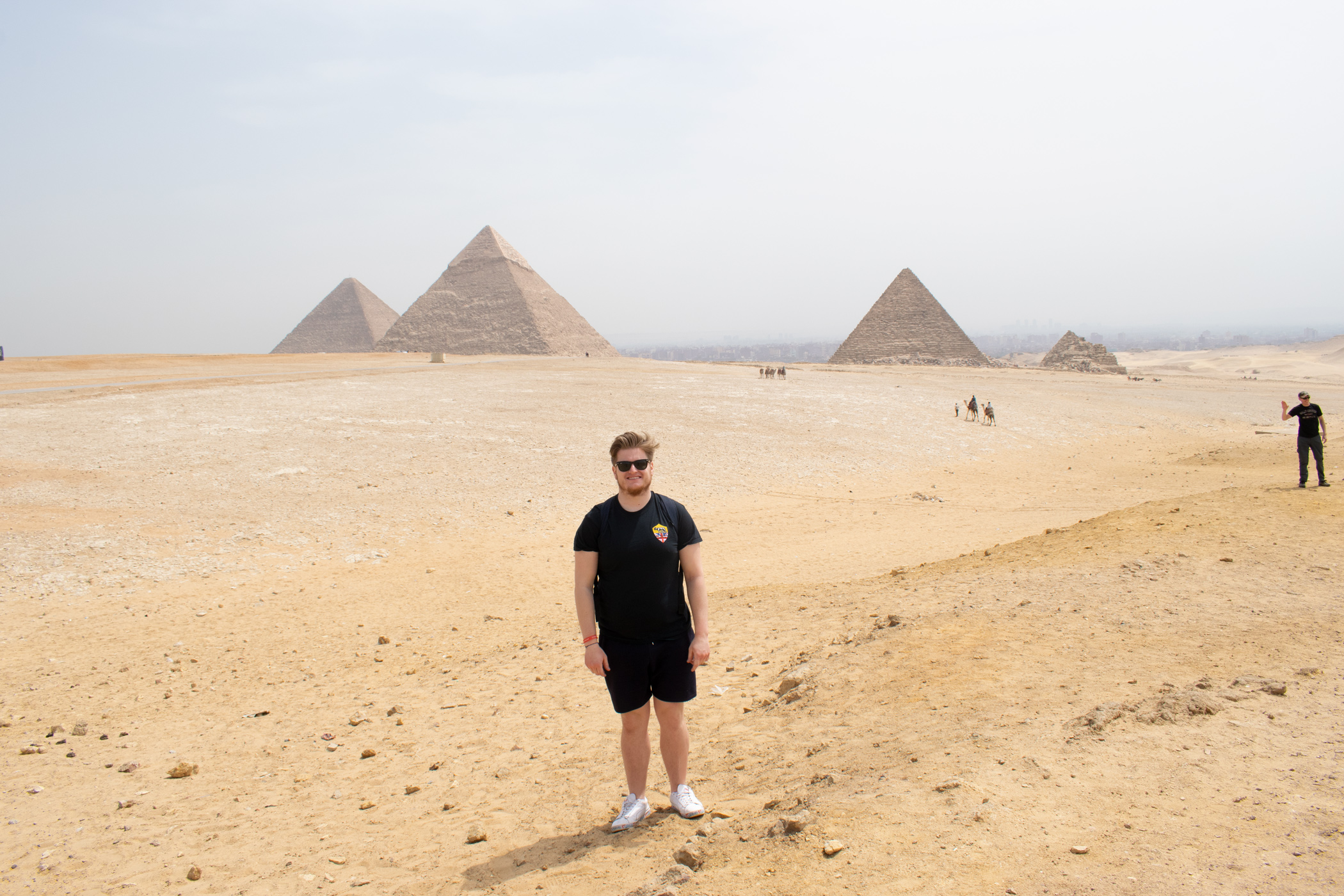 My trip to see the Pyramids was absolutely incredible, and something I'll never forget.
