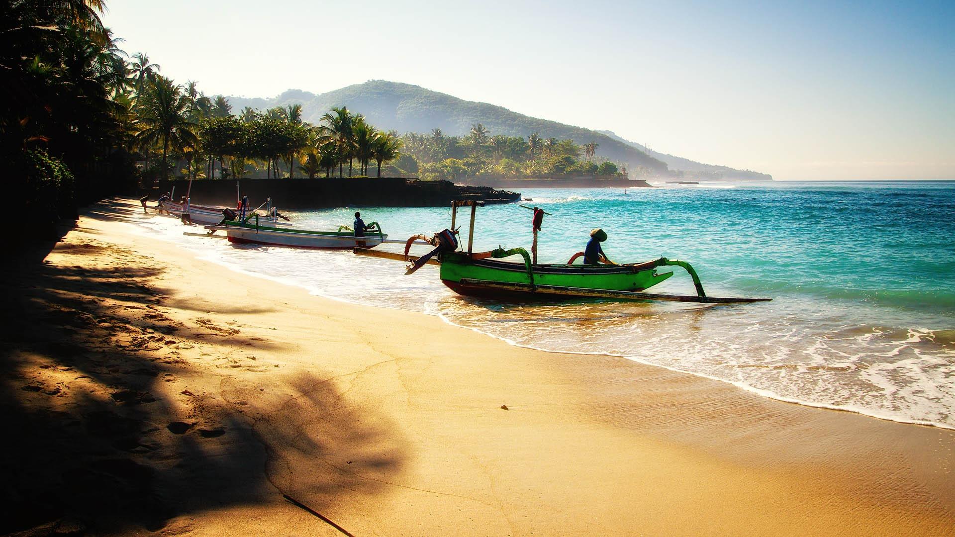 Take advantage of the beautiful Indian Ocean waters in Bali.