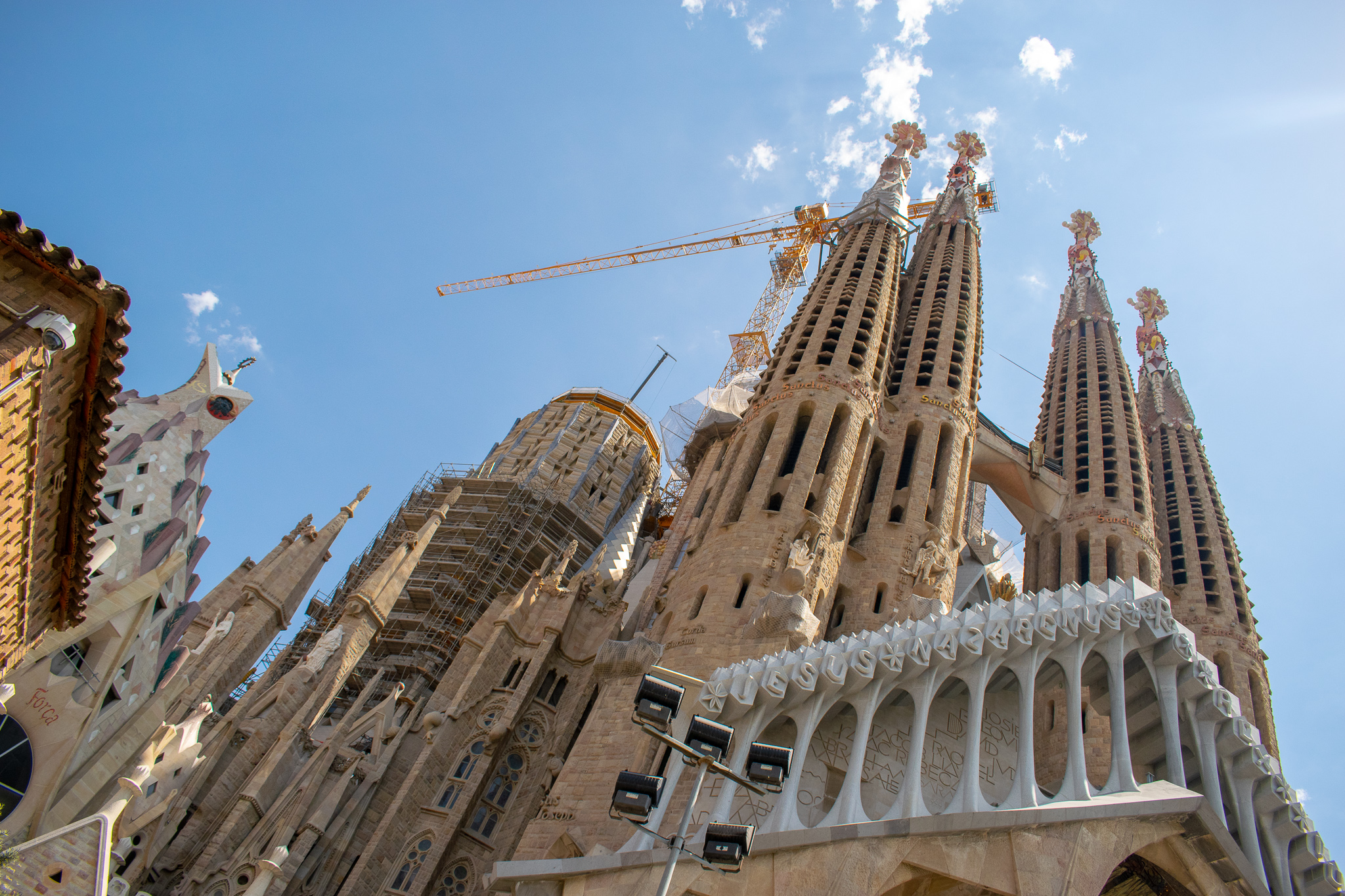 Work continues on Sagrada Familia which is expected to be completed in 2026.