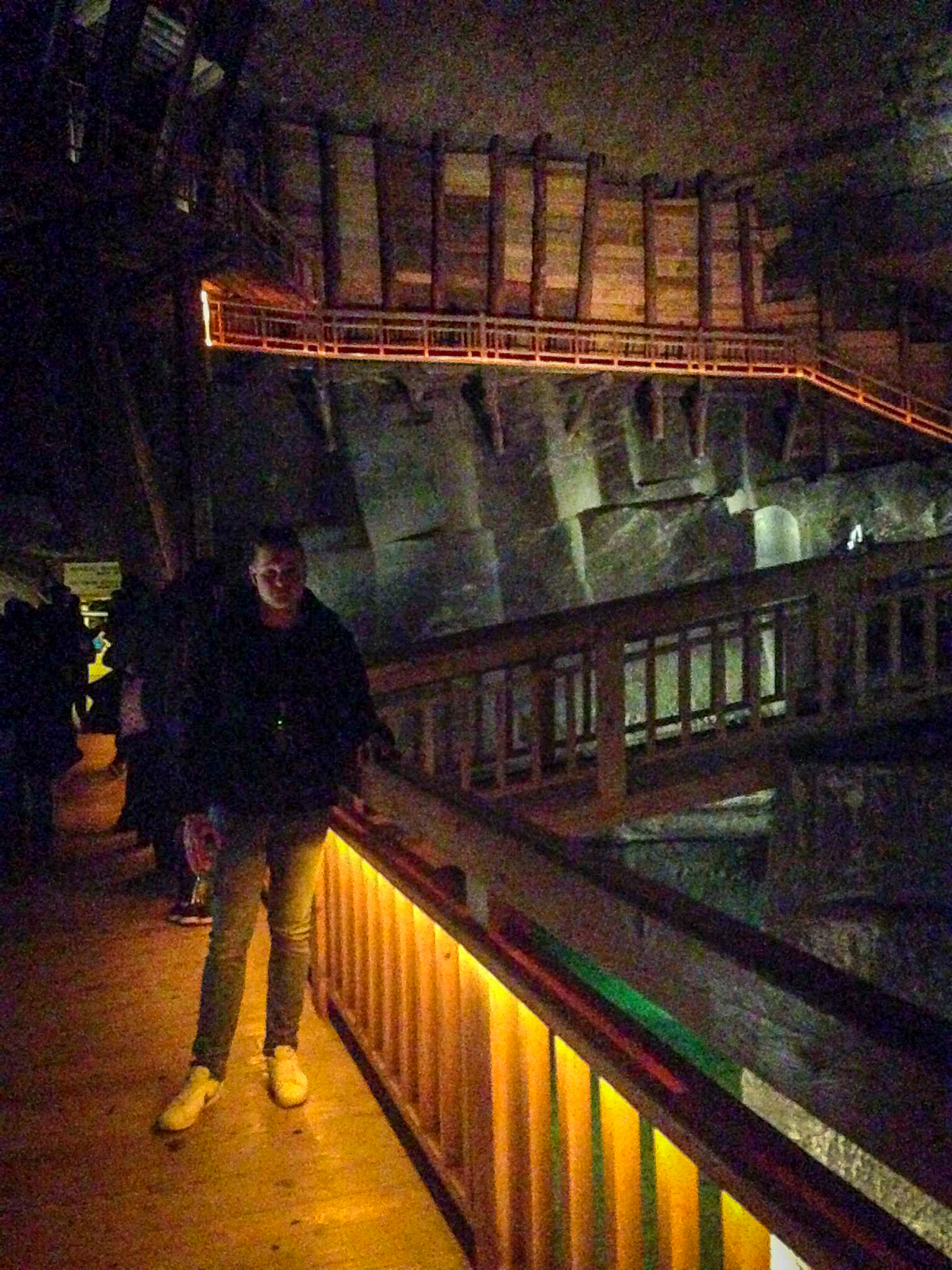 Me on a visit to Wieliczka Salt Mine in 2015.