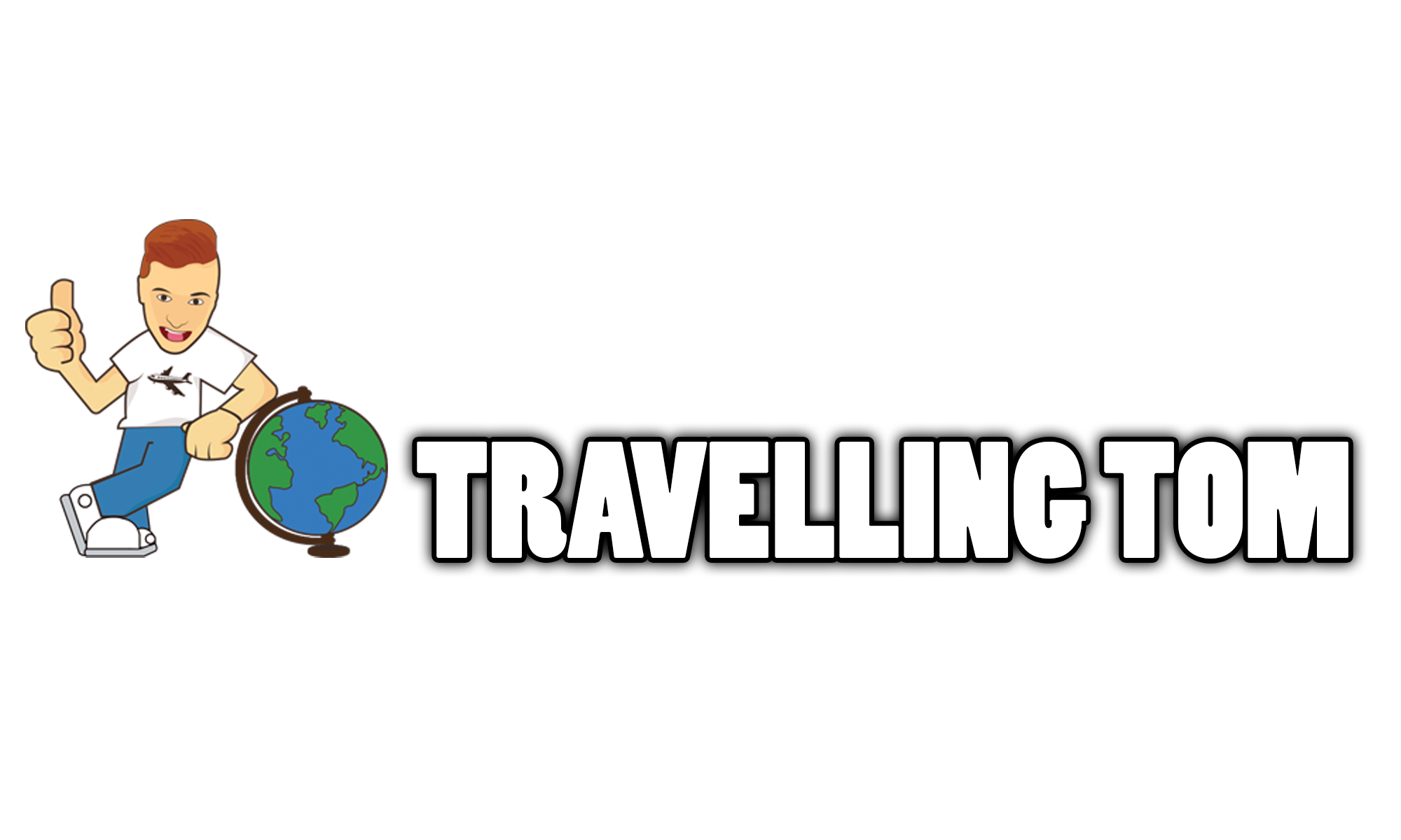 This Travelling Tom logo will soon be retired - thumbs up and all.