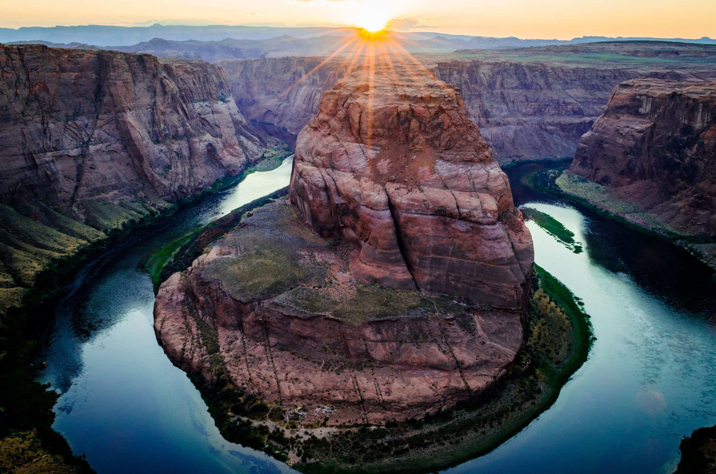 The Grand Canyon's Horseshoe Bend provides one of the Southwest's most remarkable viewing spots.
