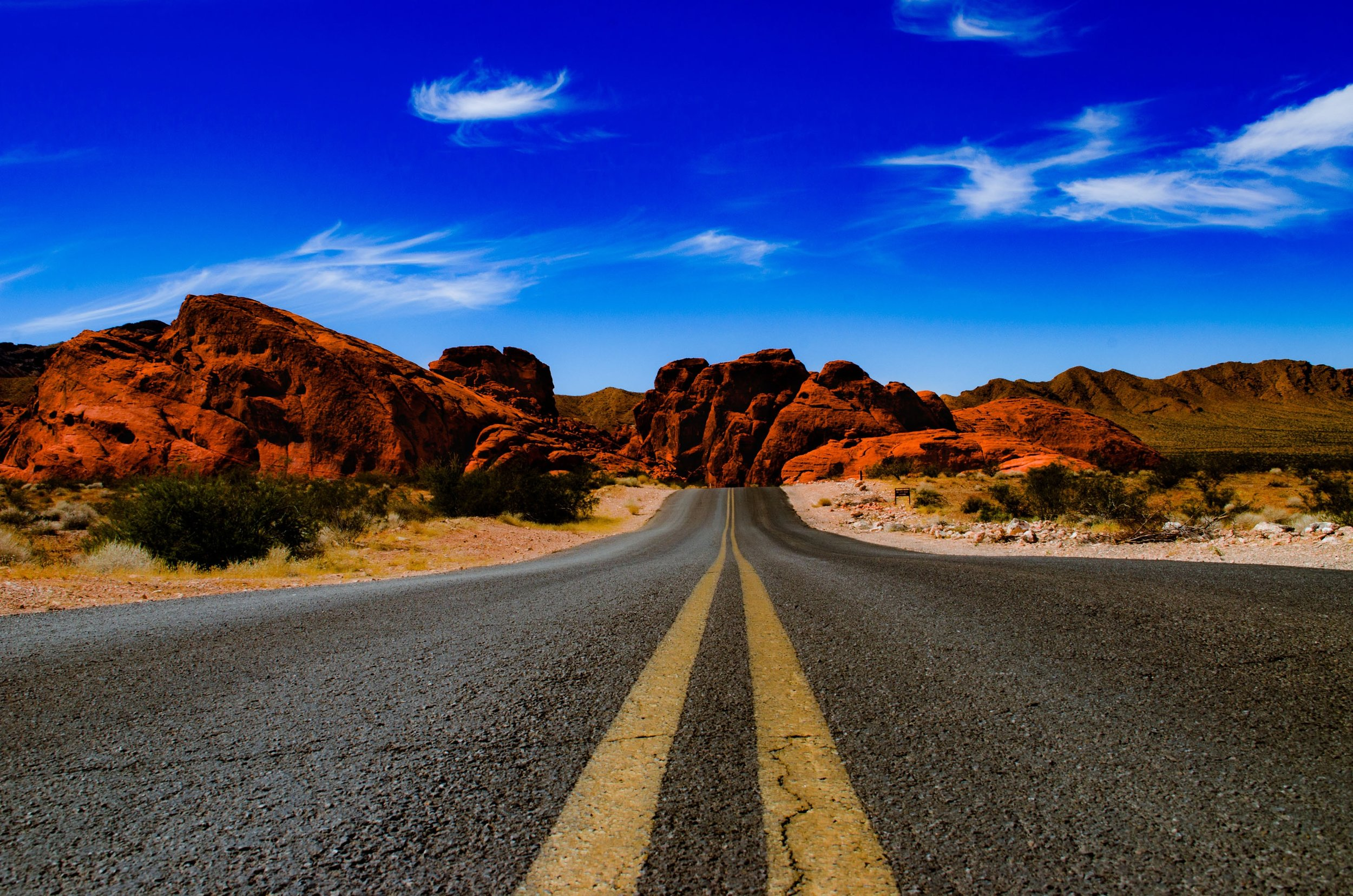 The Valley of Fire is a great addition to a USA road trip.