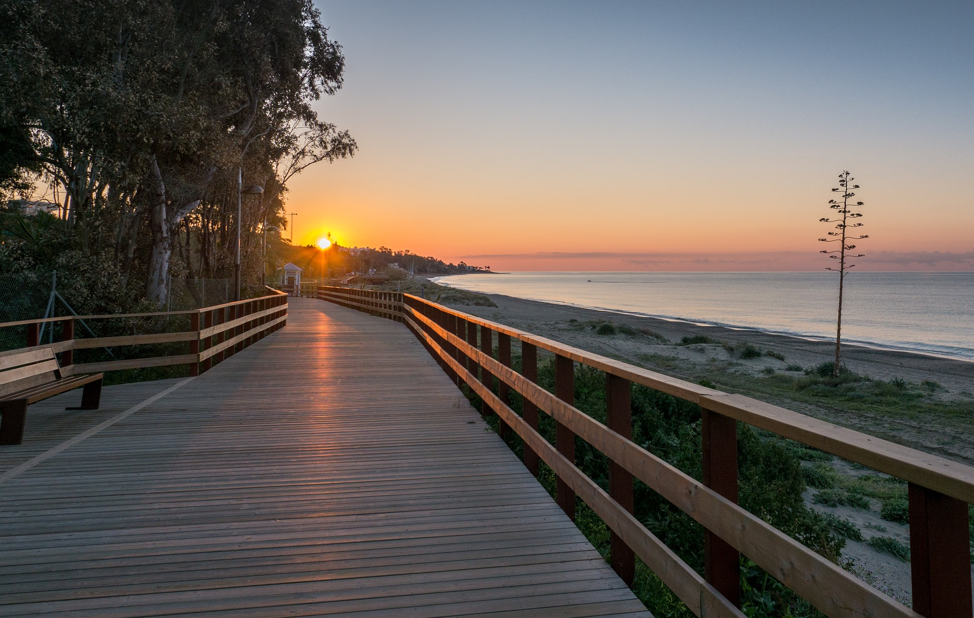 Head to Marbella for beautiful coastline.