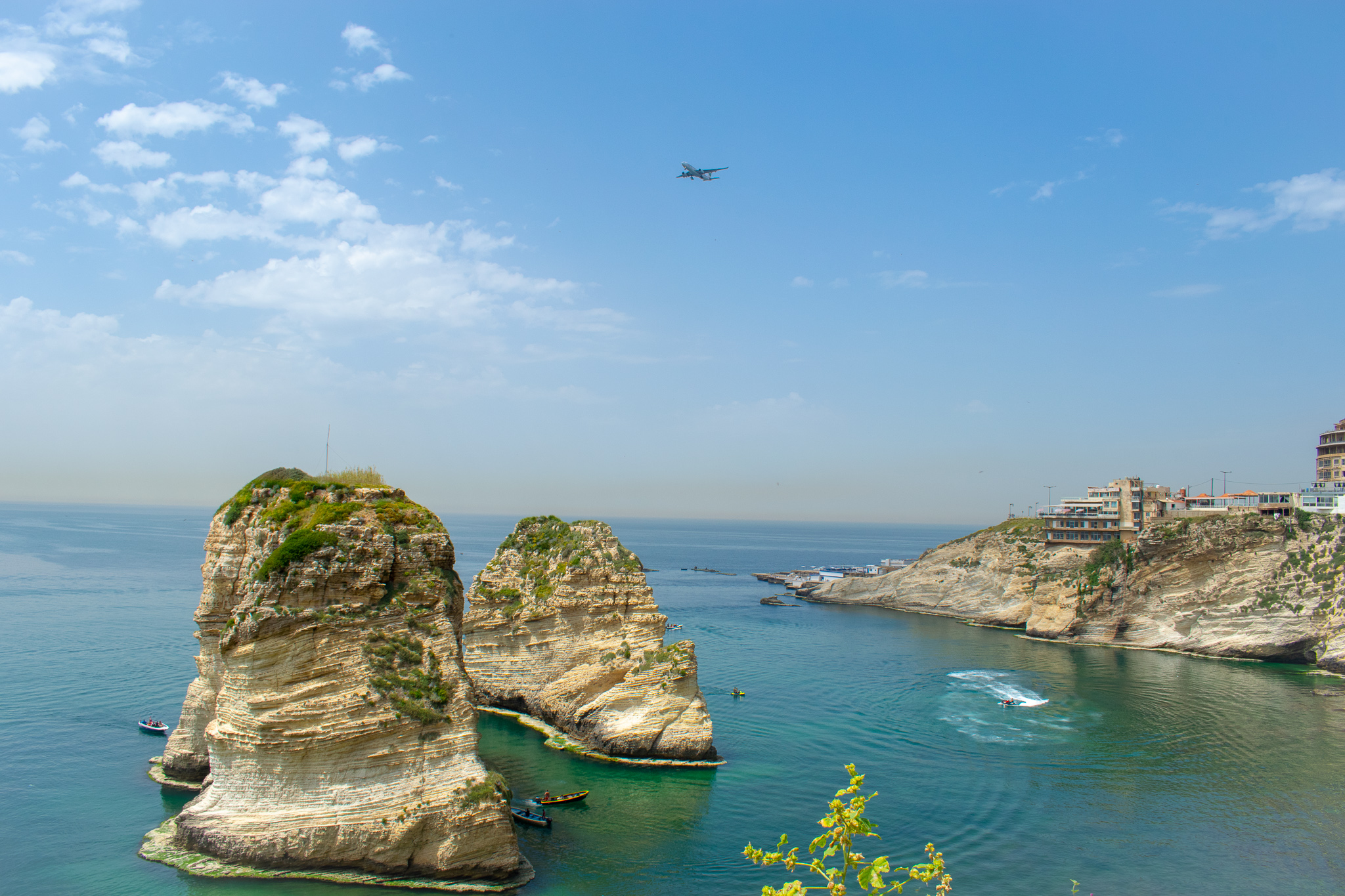 Or why not explore the coastal beauty of Beirut?