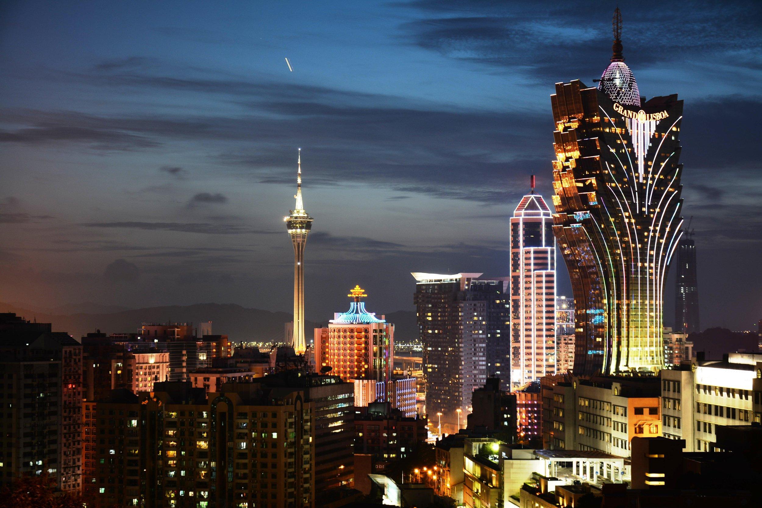 Macau is the Far East's answer to Macau.