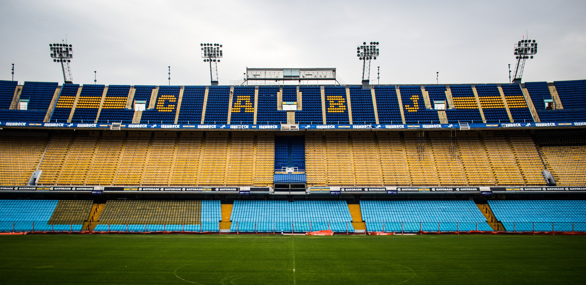 La Bombonera - the world-famous home of Club Atlético Boca Juniors.