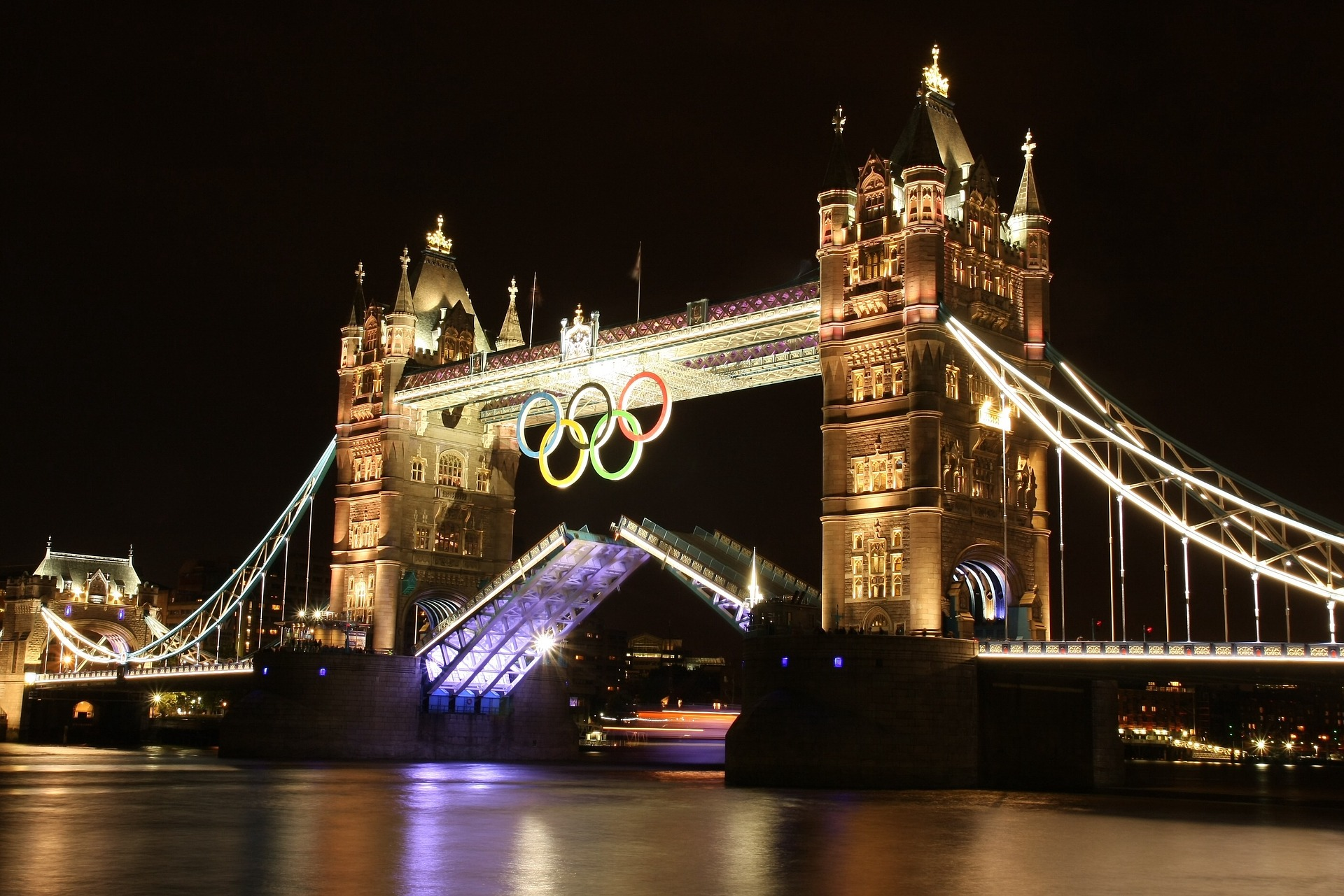 London hosted the Summer Olympics in 2012, but for some reason I didn't attend.