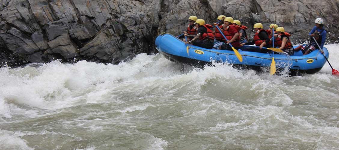 Go white water rafting in Nepal.