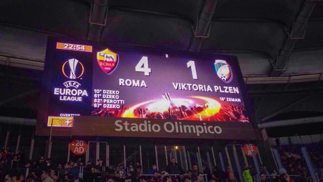 Roma-Plzen-Europa-League