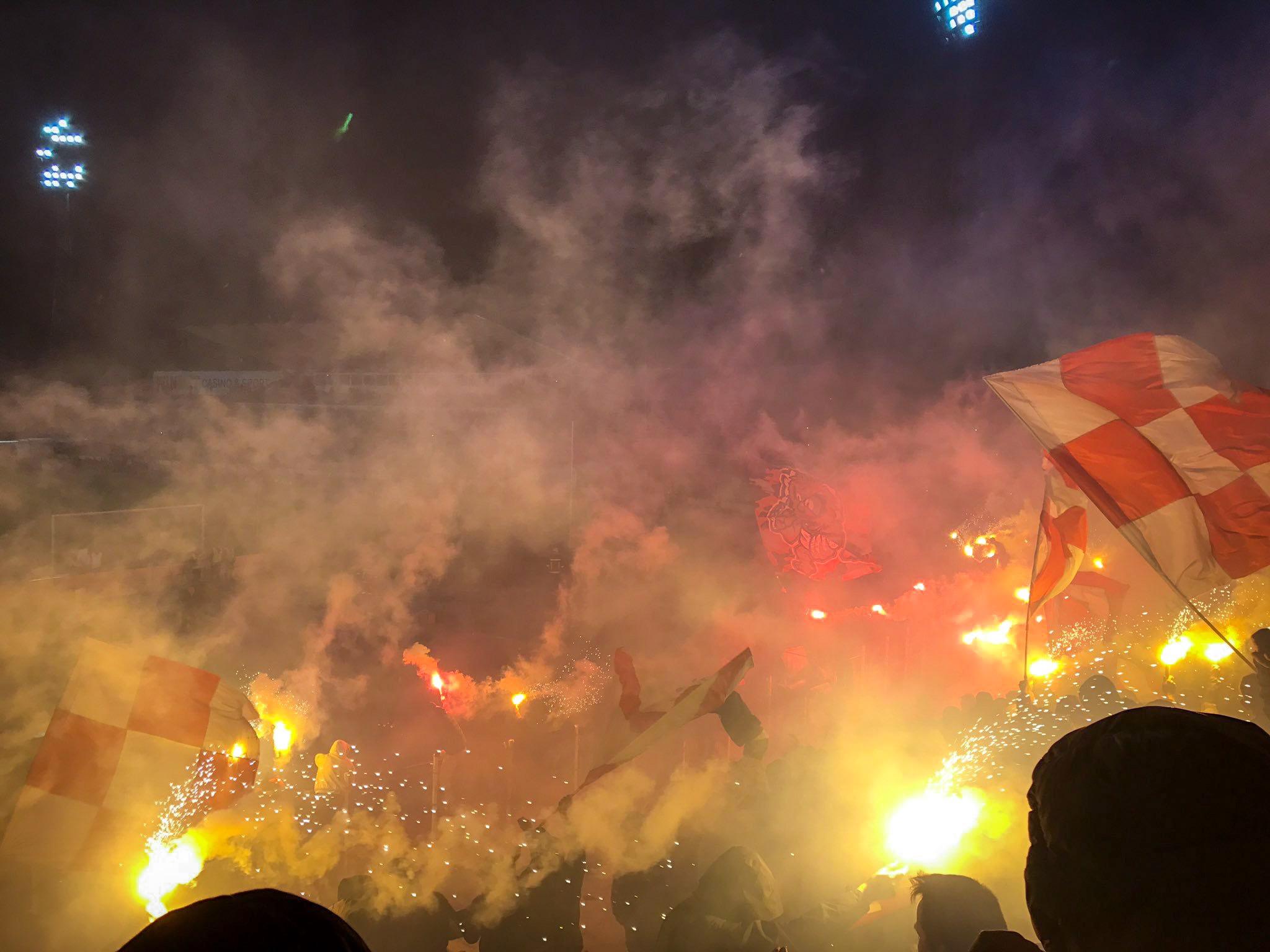 CSKA-Sofia-Fans-Ludogorets-Flares