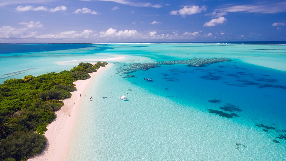Spending money on travel means you could be seeing places like this in the Maldives.