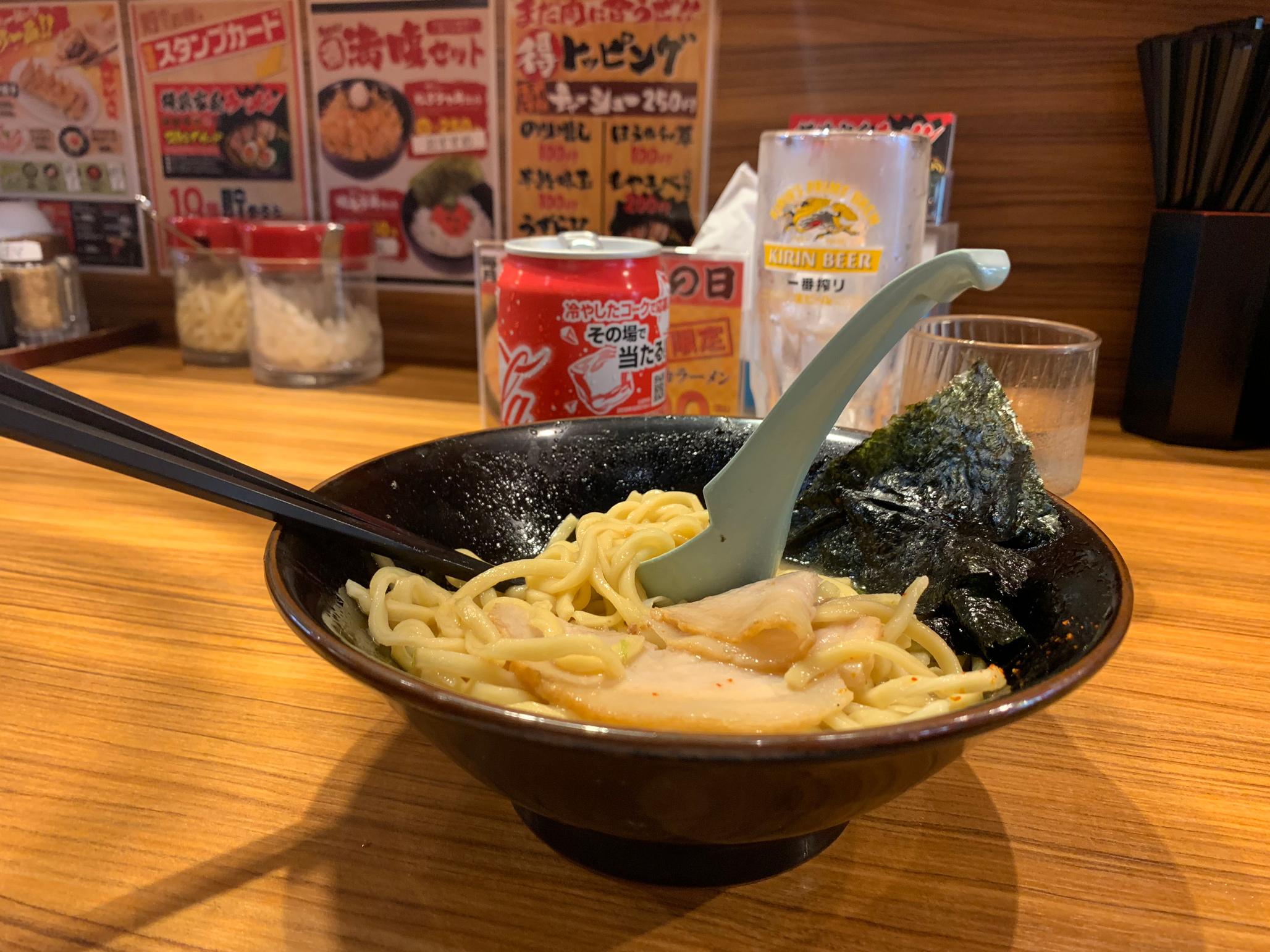 My ramen bowl that I enjoyed in Tokyo.