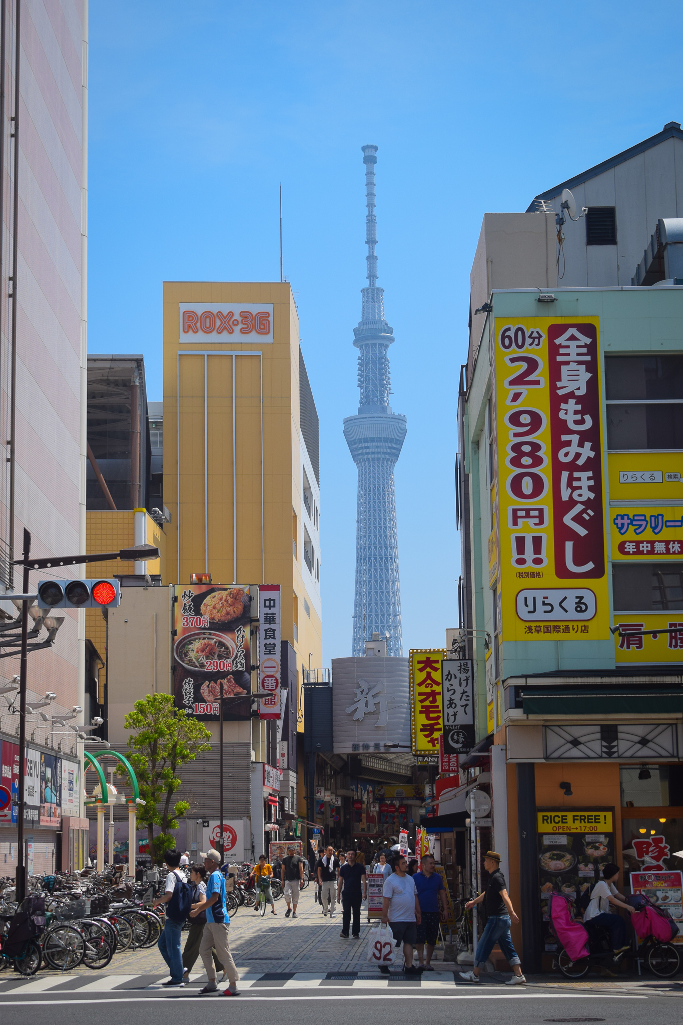 As it stands (pun completely intended), Tokyo Tower is the world's second-tallest structure behind the Burj Khalifa.