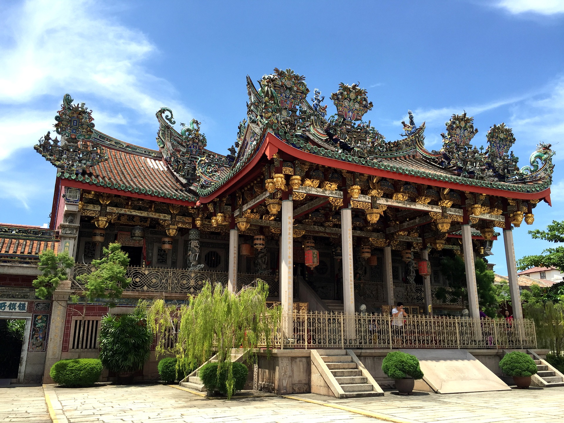 Khoo Kongsi is one of Penang's most intricately-decorated buildings.