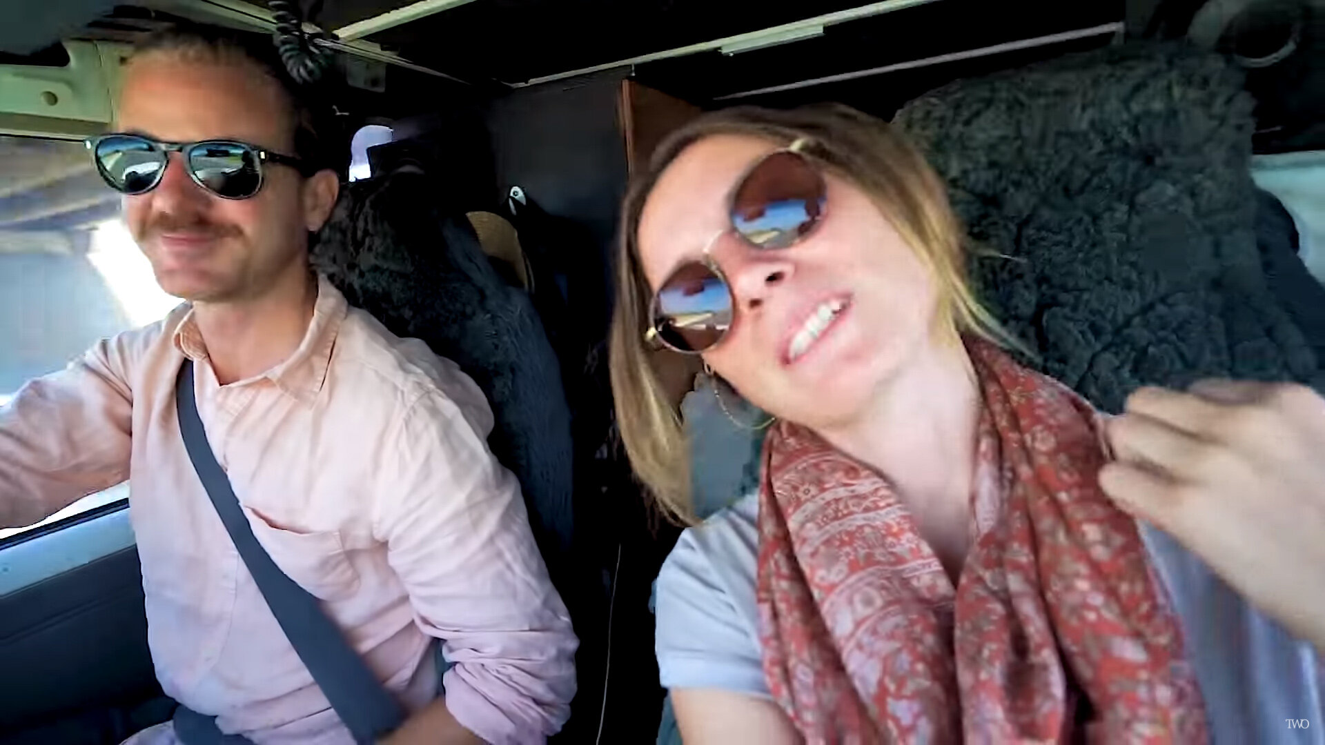 Their most recent videos show the couple driving through Pakistan. Image credit:    The Way Overland   /Fair use