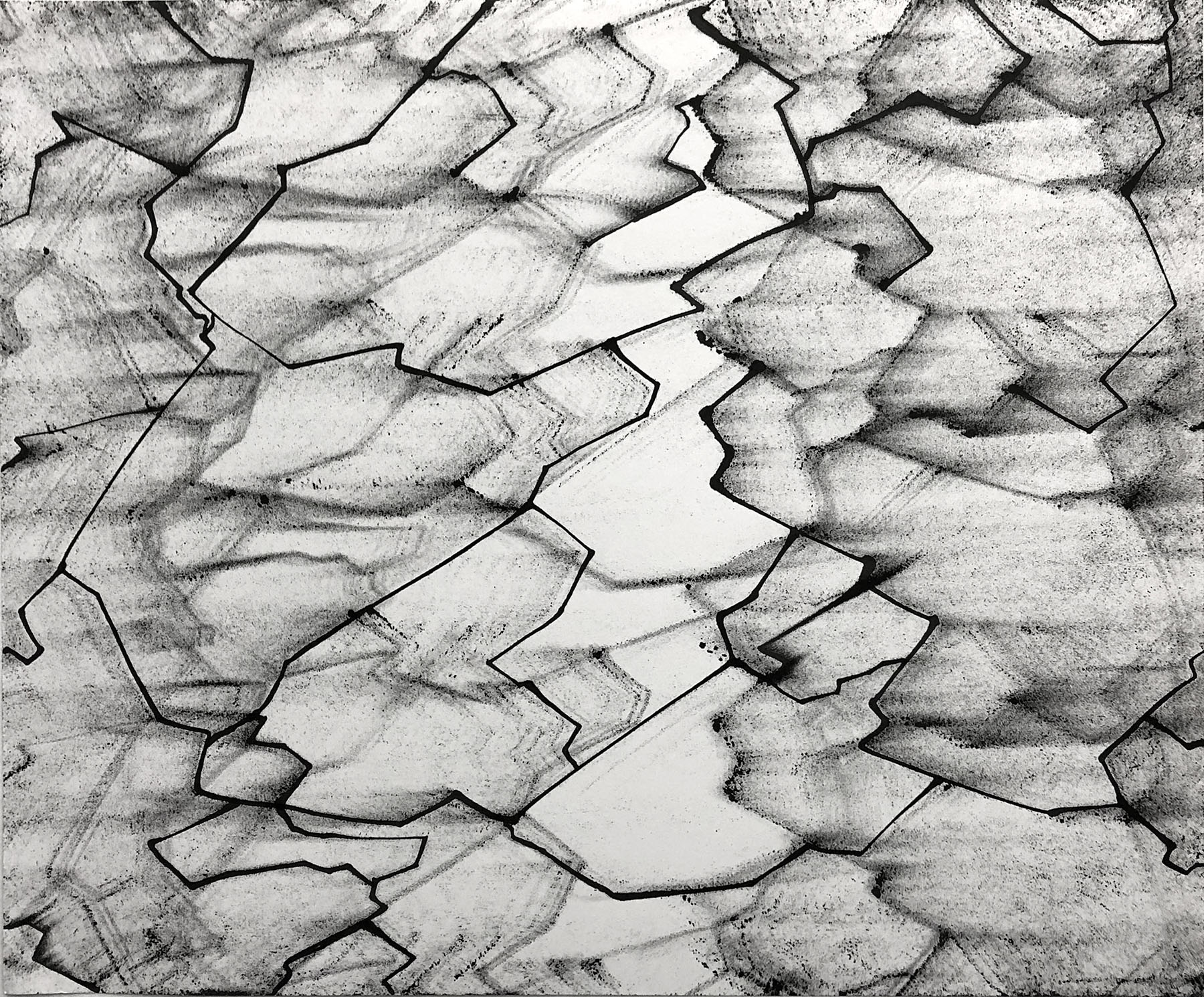 Rine, 14x17, Ink on Paper