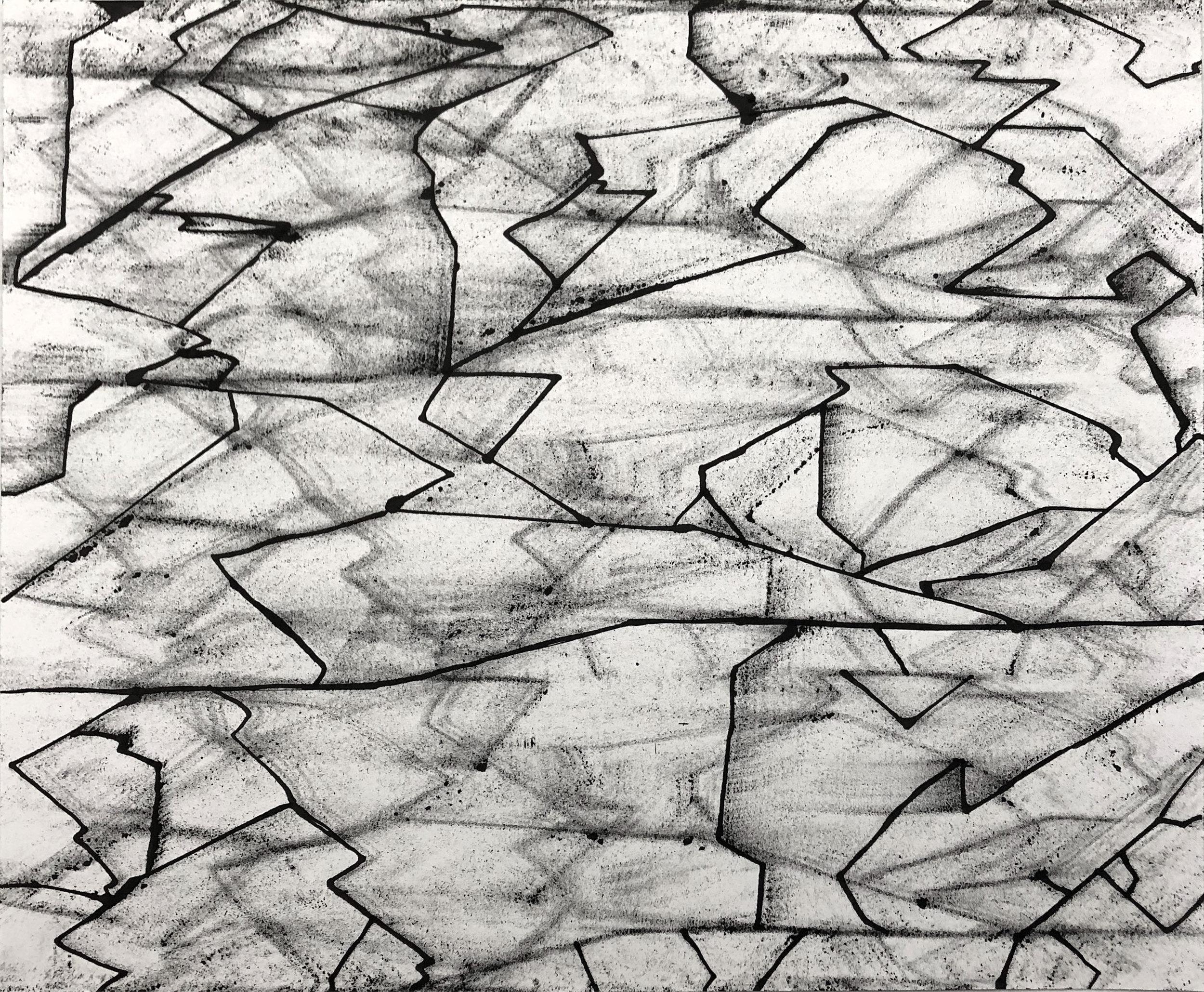 Pleor, 14x17, Ink on Paper
