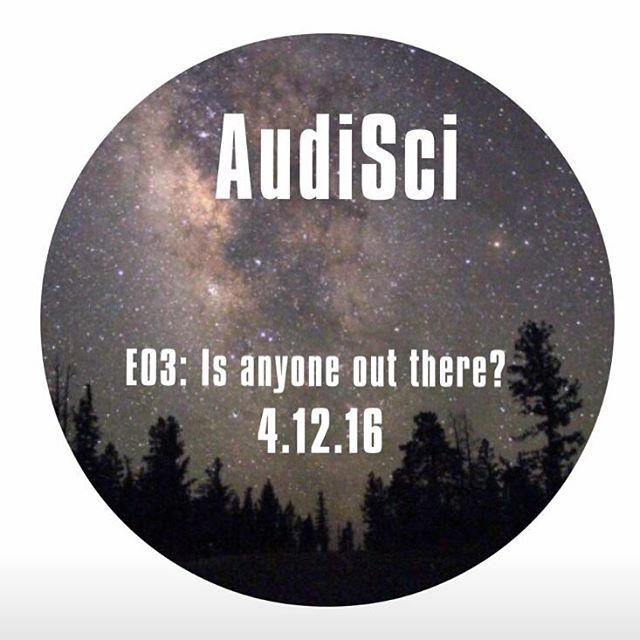 Stay tuned for our next episode dropping April 12th!! #AudiSci #IsAnyoneOutThere? #episode03