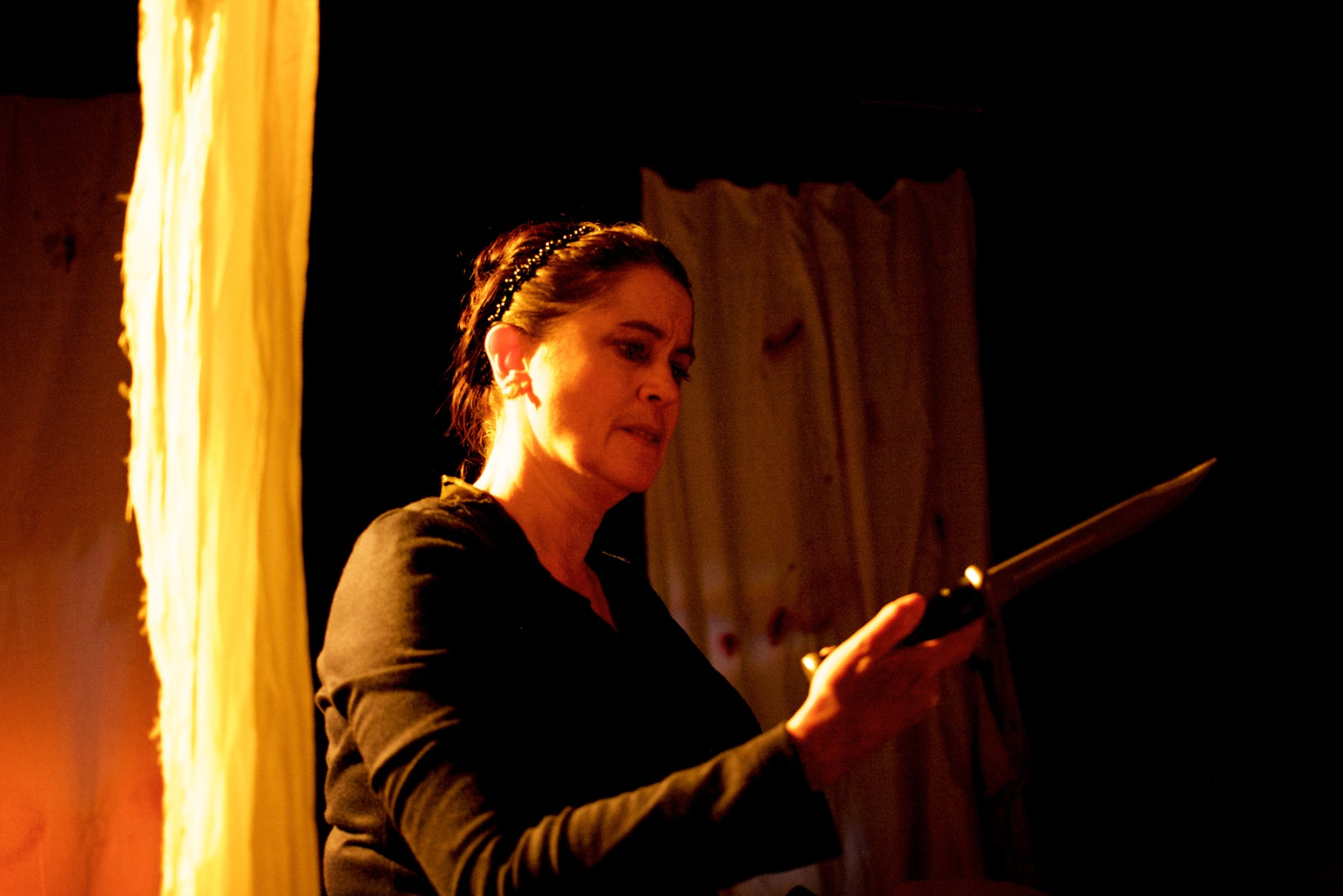 LADY CARTER in  Witch  (Convergence Theatre) Photo Credit: Ryan Maxwell