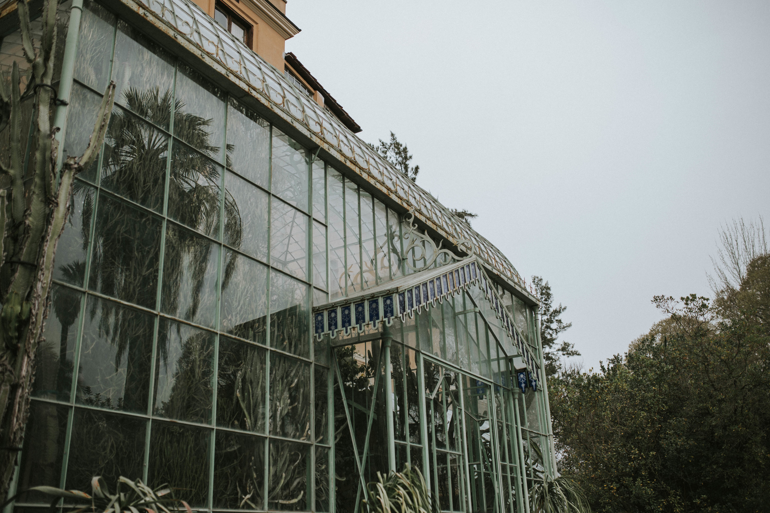 A day out in Botanical gardens Rome