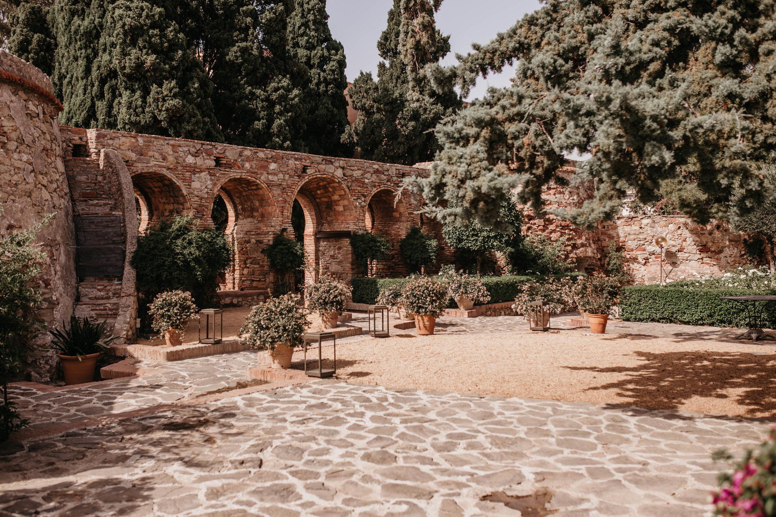 castle malaga