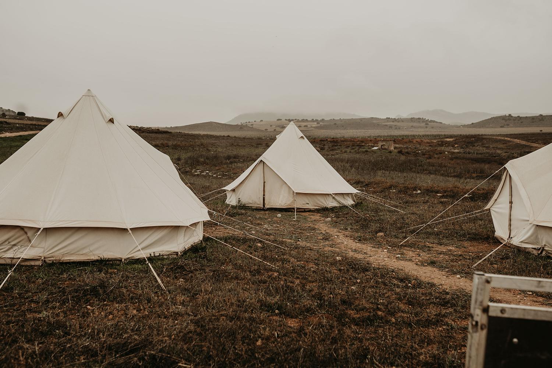 eco restoration camp Spain