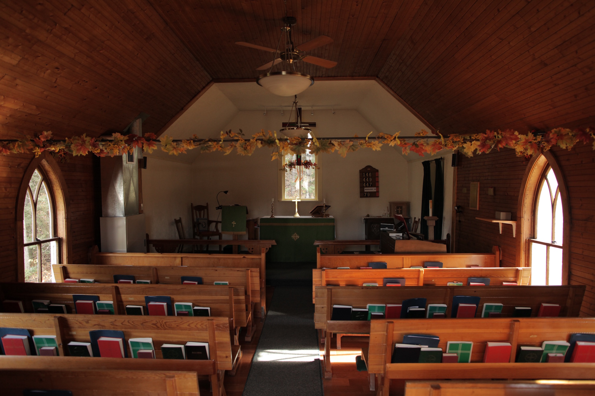 Interior of St. James Church